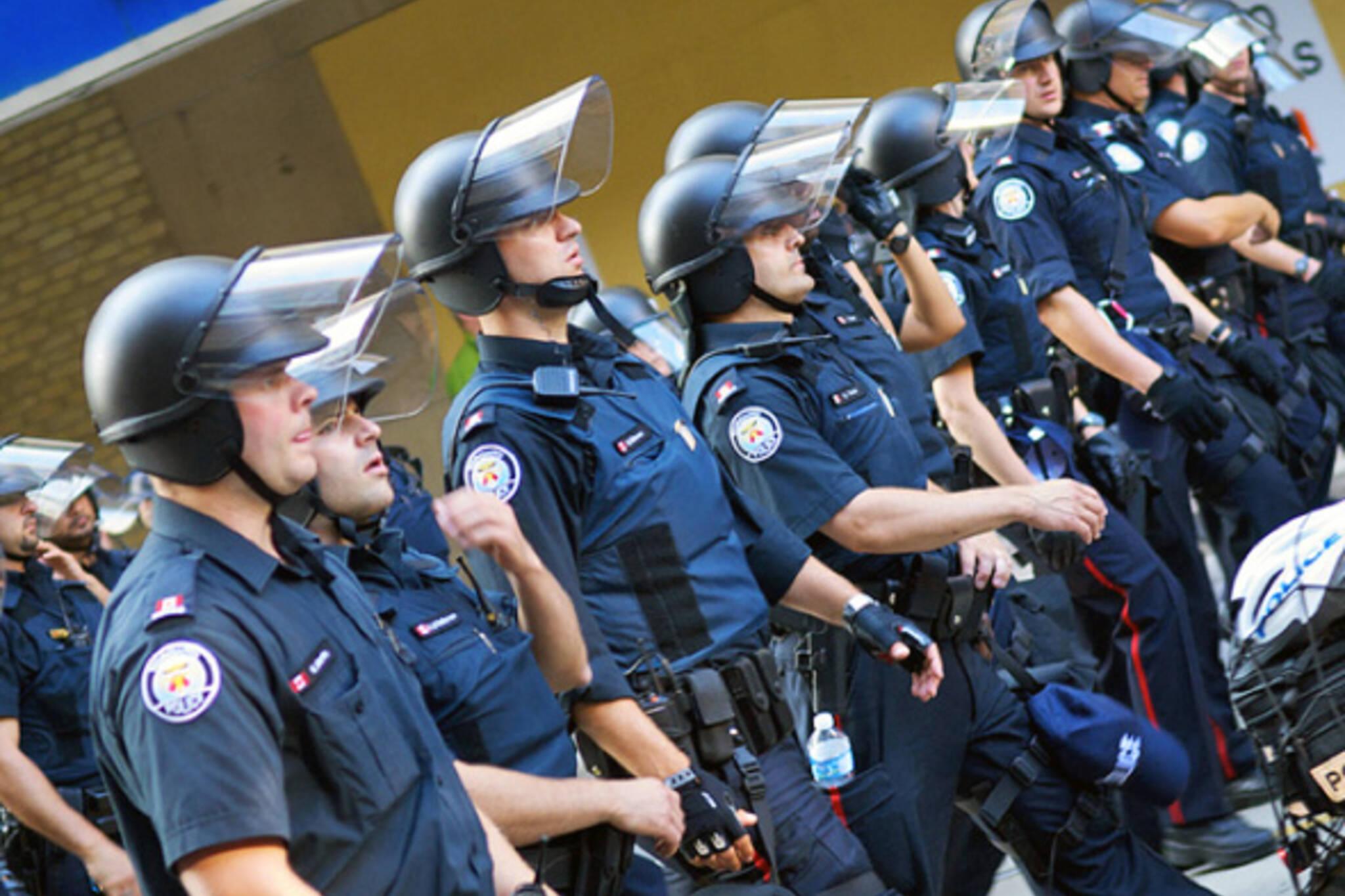 G20 Riot Police