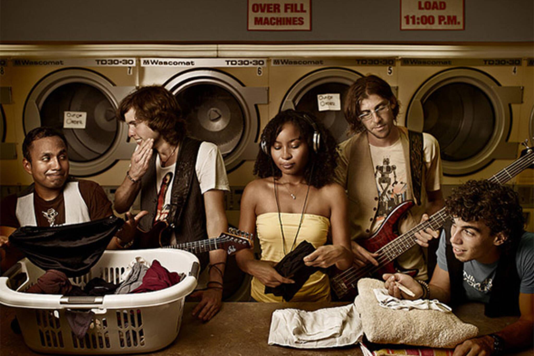 laundry music