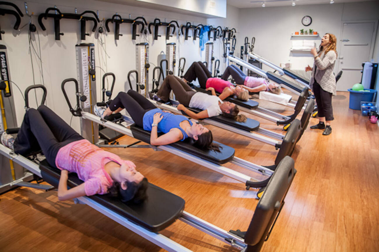 This Toronto fitness club gets you fit with gravity