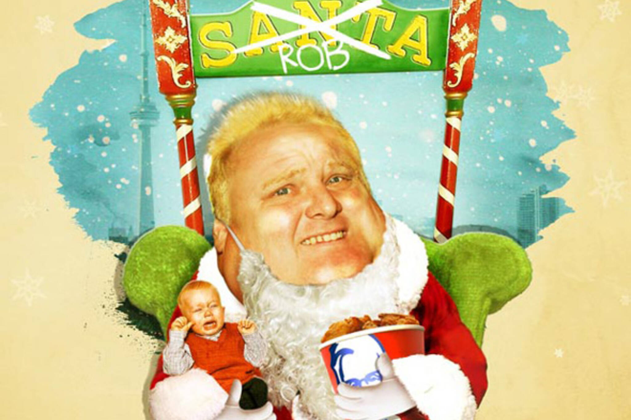 Rob Ford Holiday Musical
