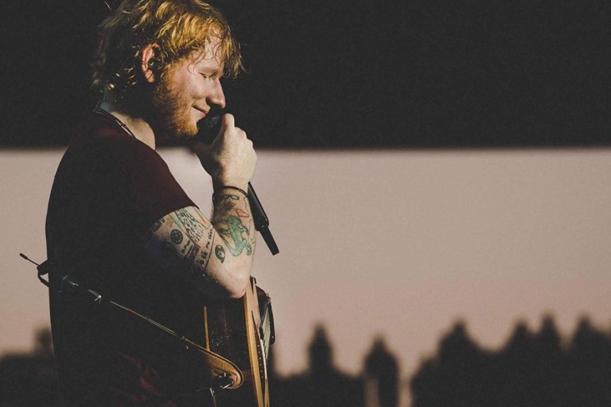 Ed Sheeran pop-up