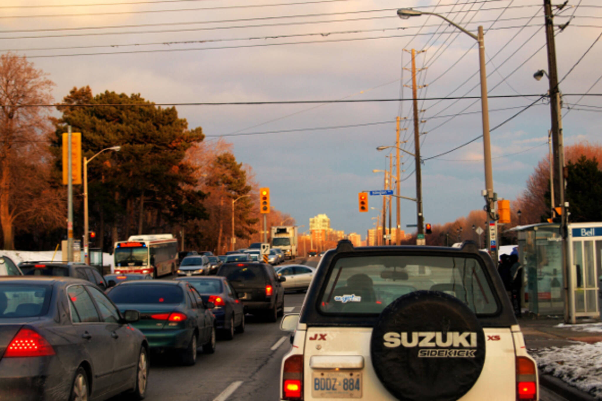 busiest intersections toronto