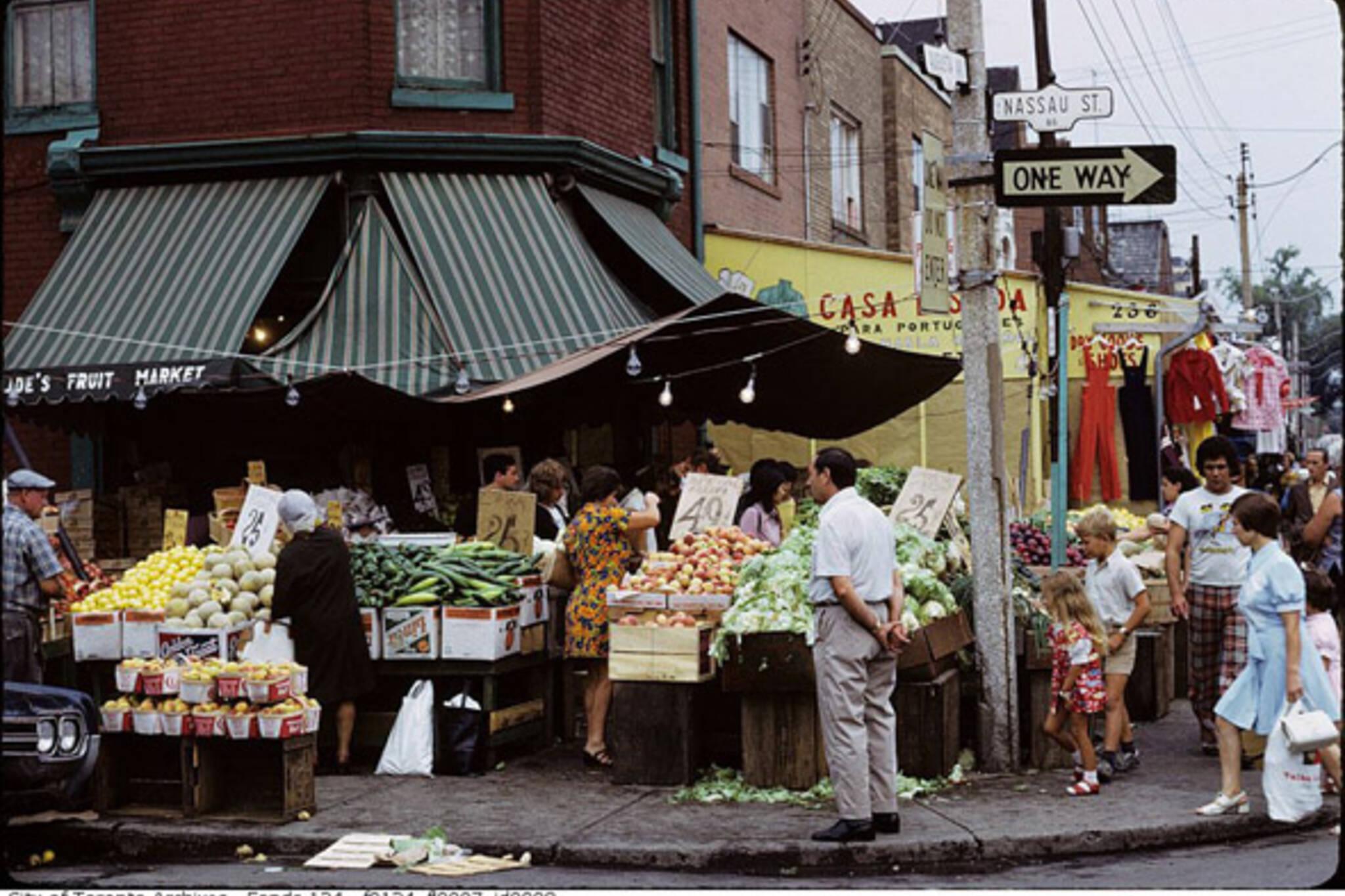 Kensington market History