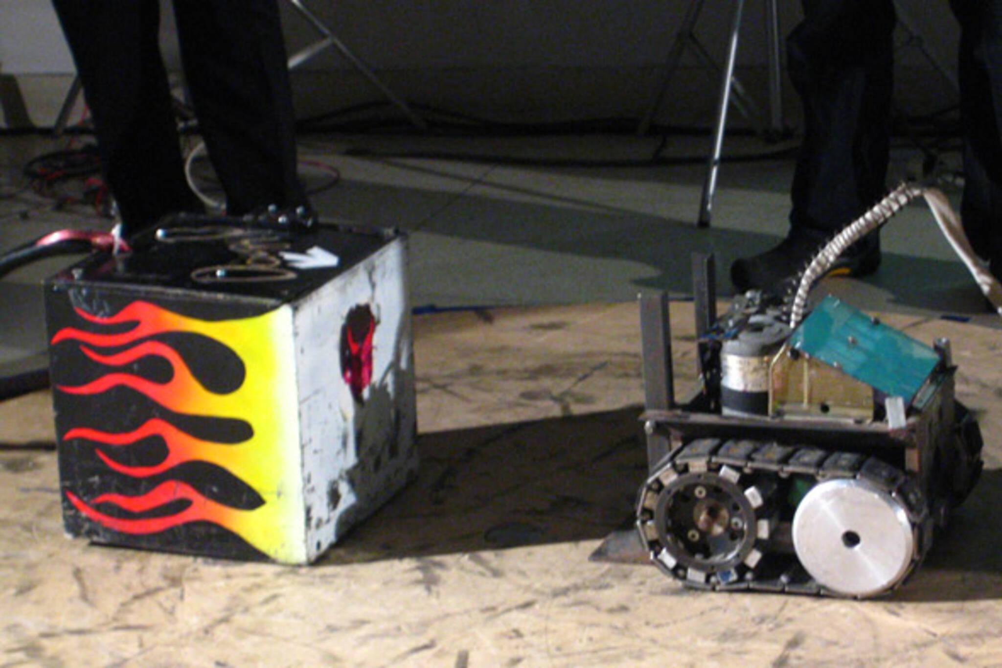 sumo robot challenge ocad 2009