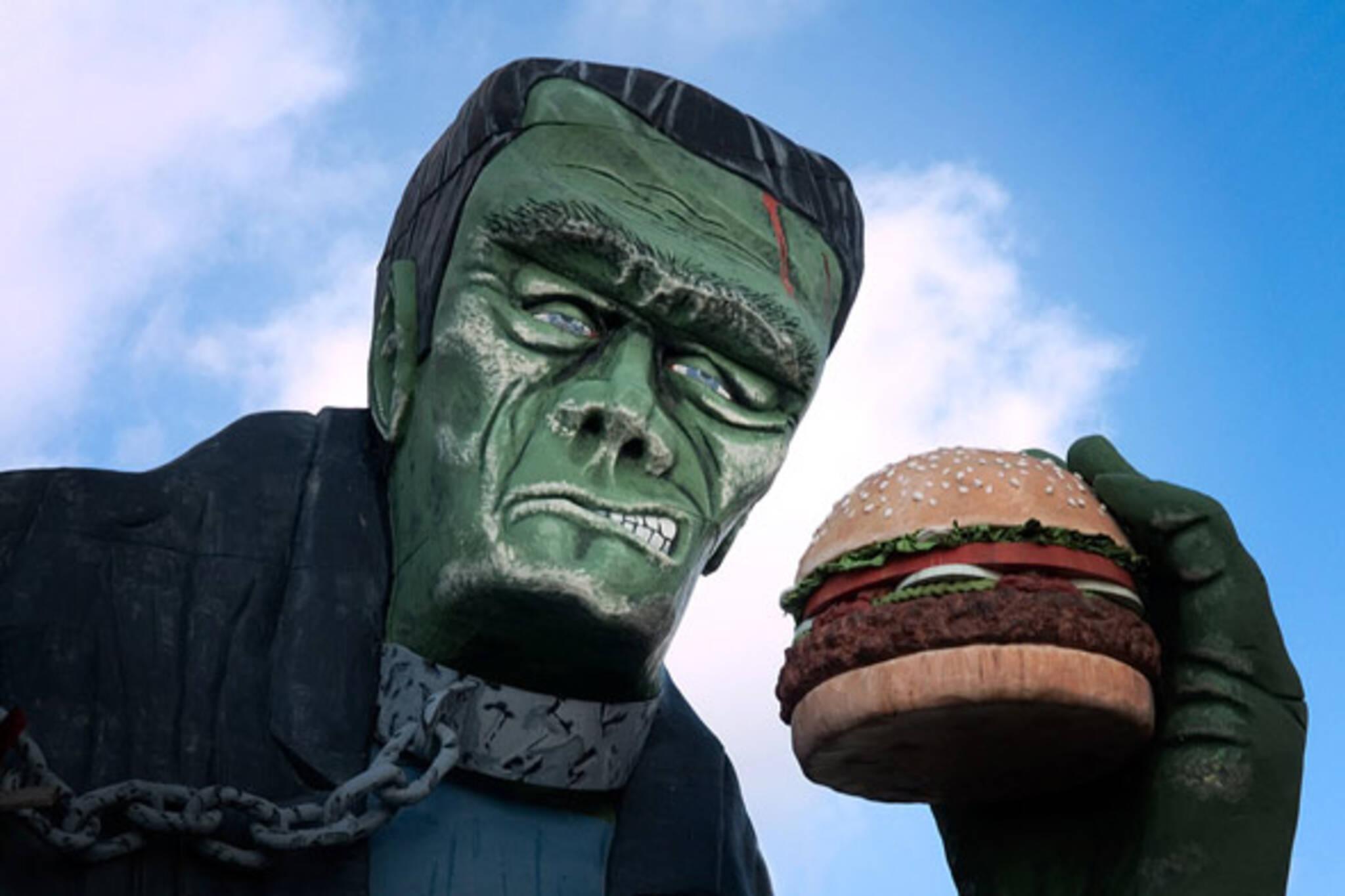 niagara falls frankenstein burger king