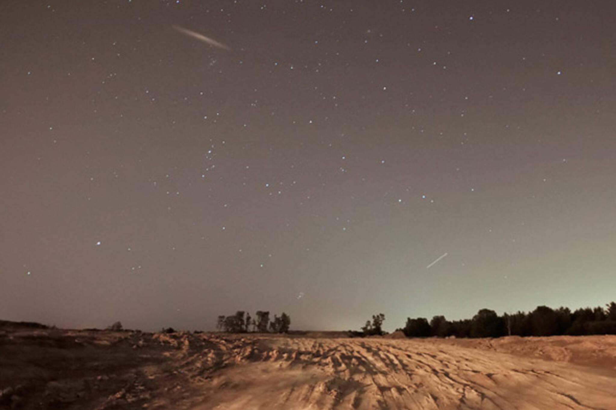 Meteor Shower August Toronto GTA