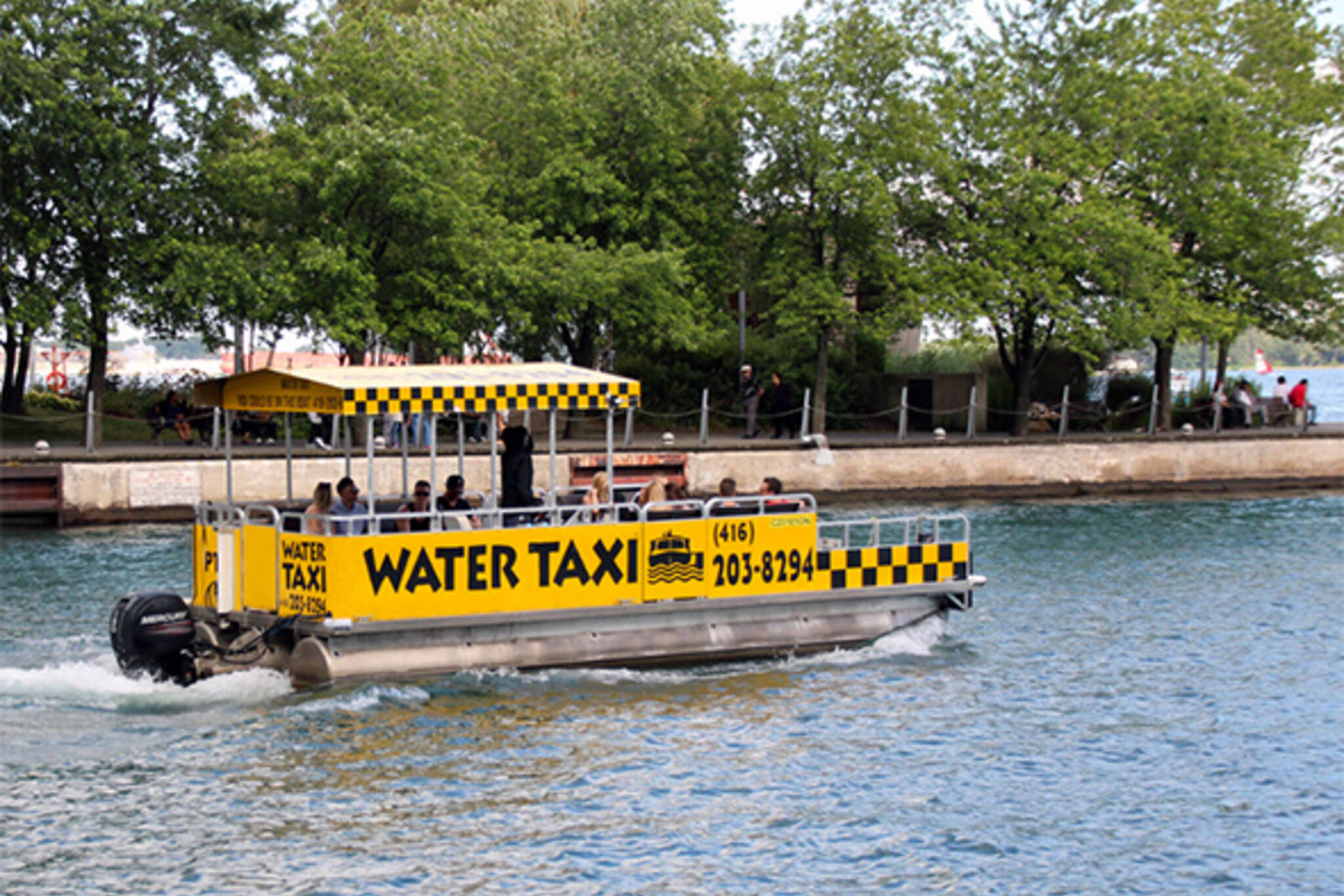 water taxi toronto