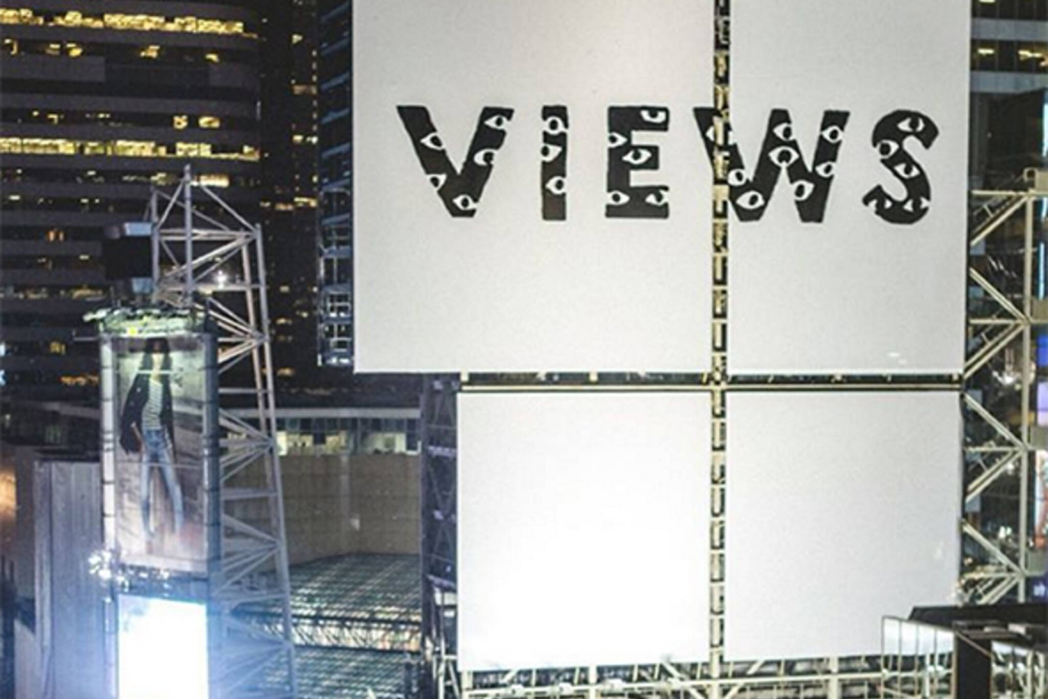 Drake views billboard