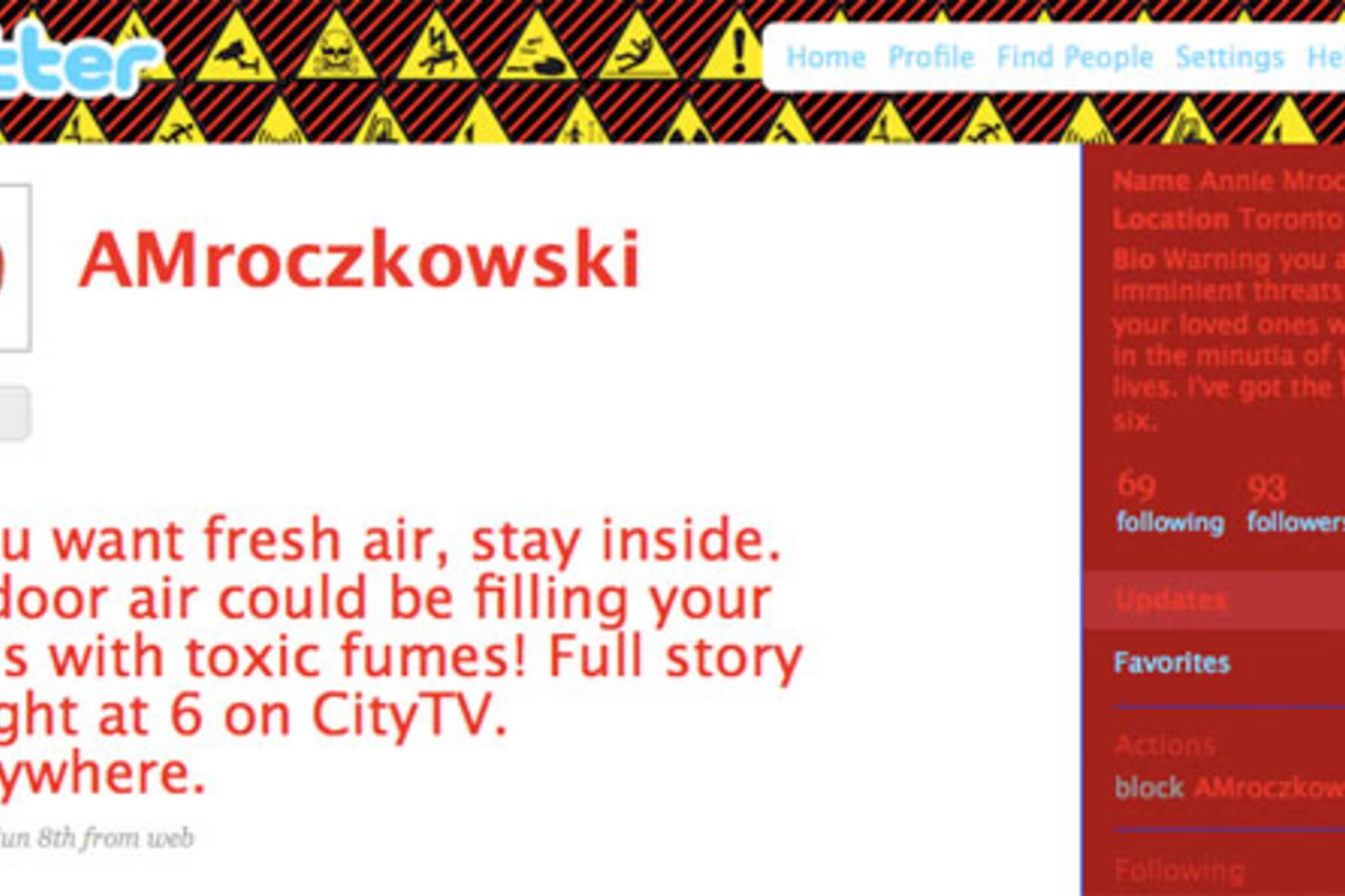 fake anne Mroczkowski twitter