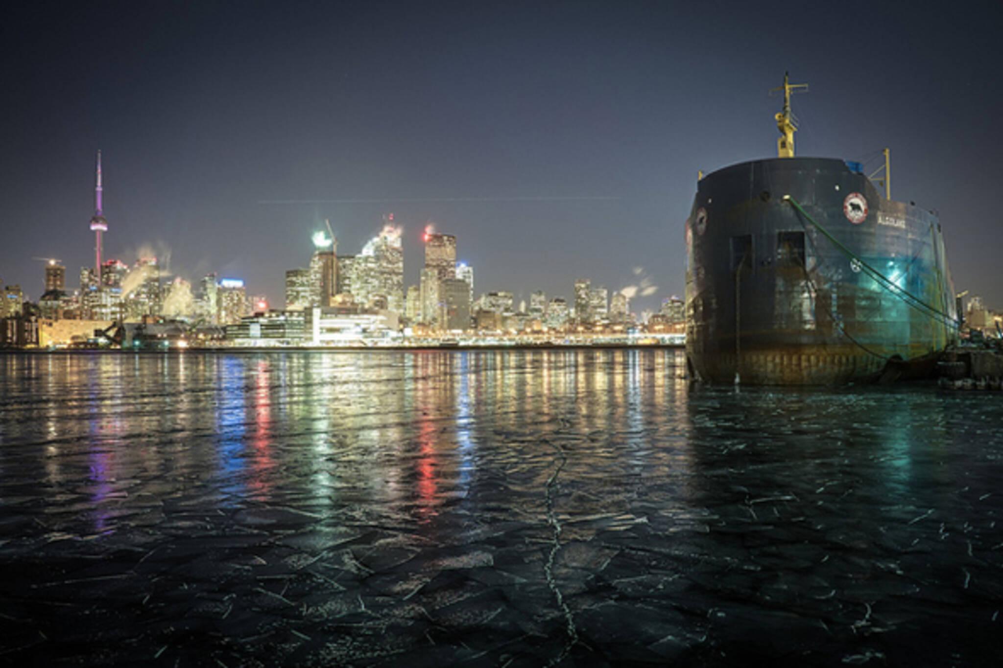 Toronto Skyline Winter