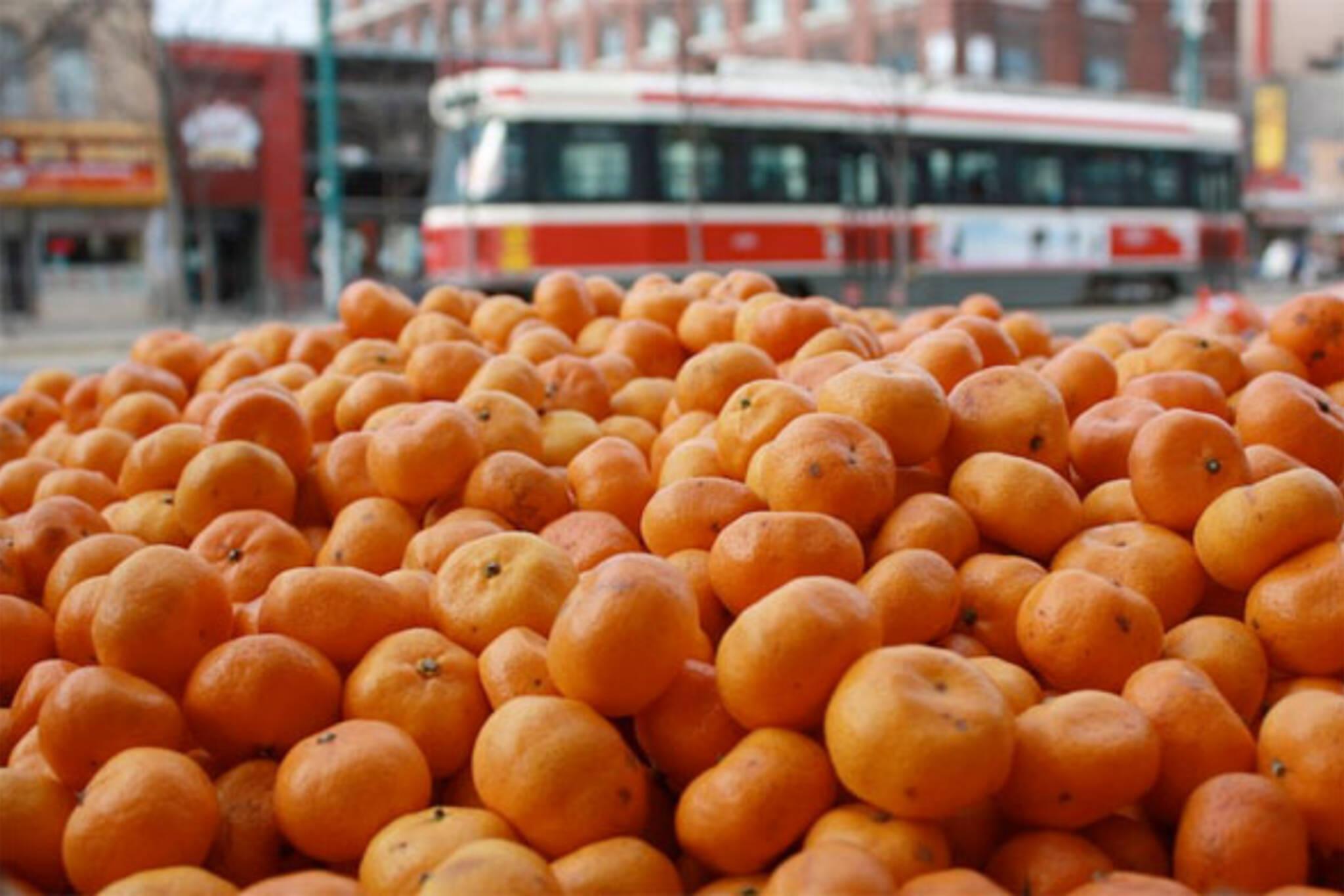 oranges streetcar