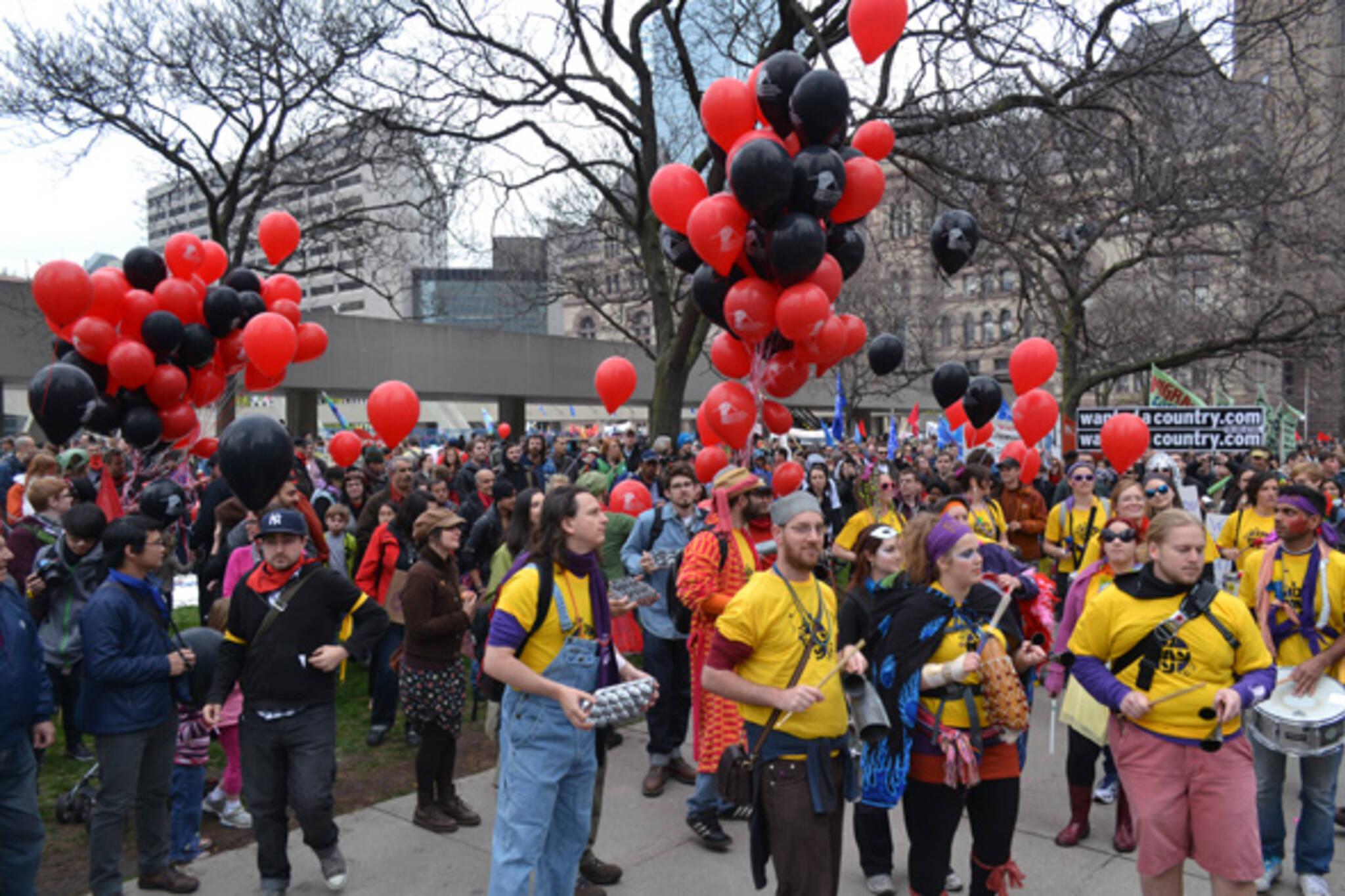 May Day Toronto 2012