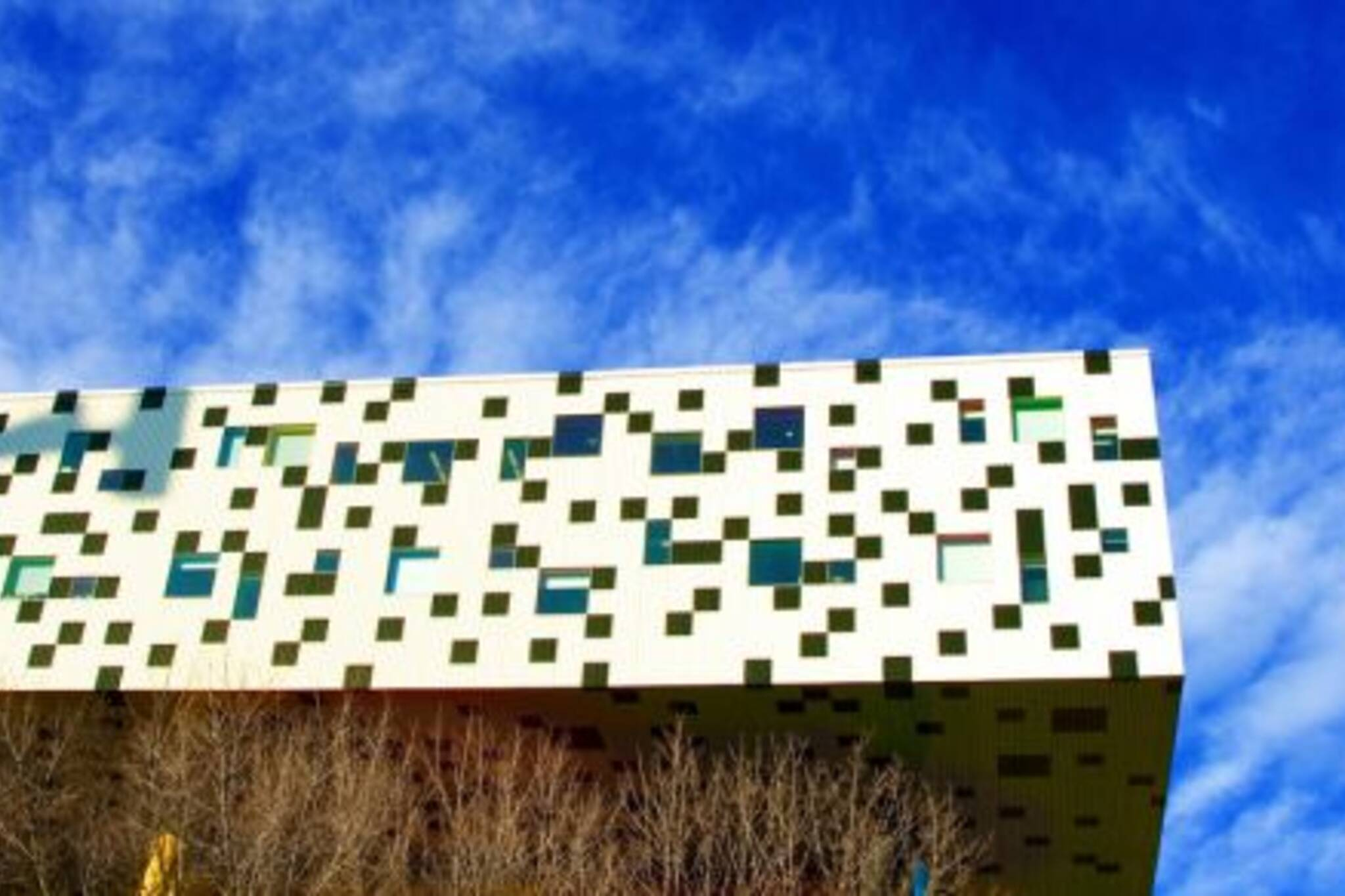 OCAD against a blue sky