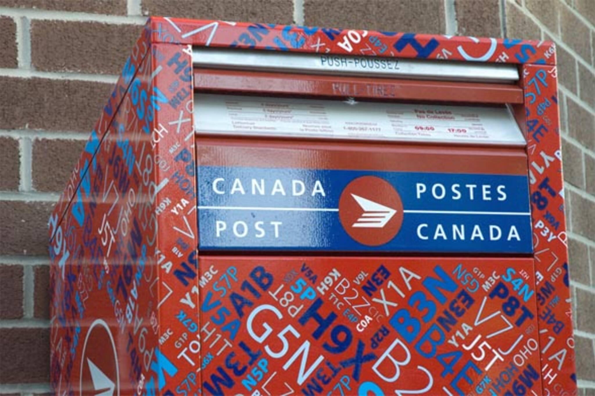 new mailbox canada post