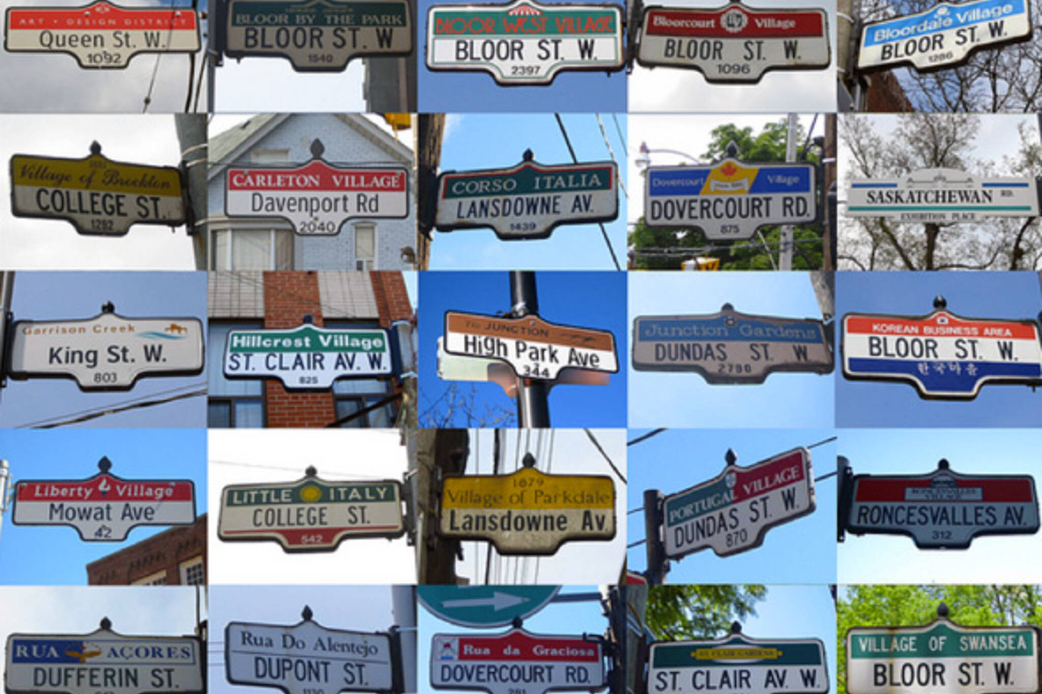 Toronto Street Name Meanings
