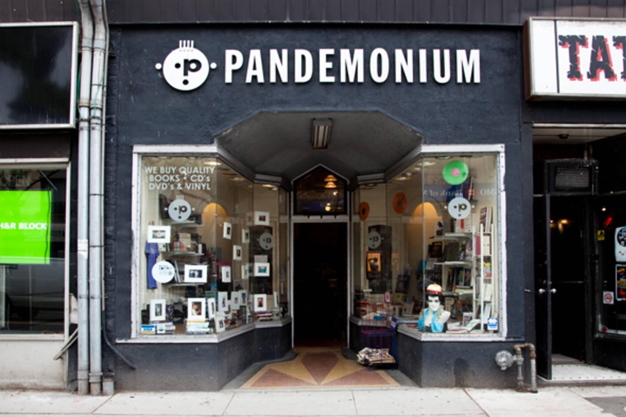 Pandemonium Books CDs Toronto