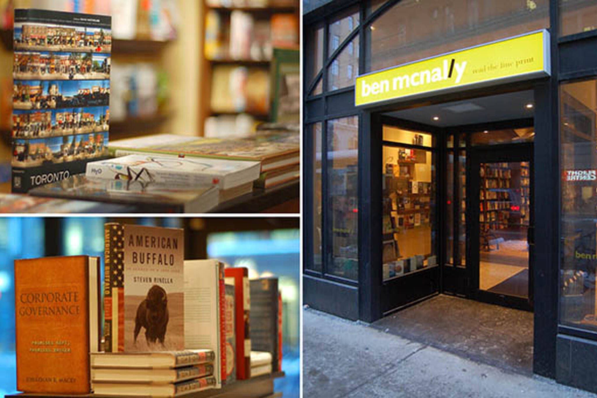 Ben McNally Books