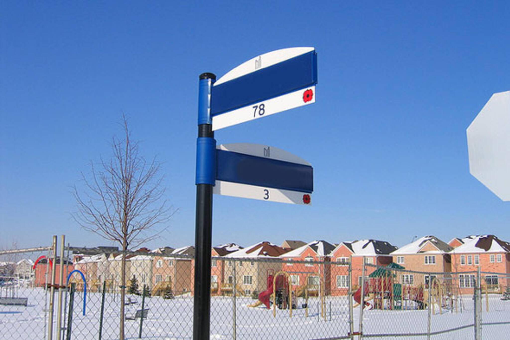 name toronto street