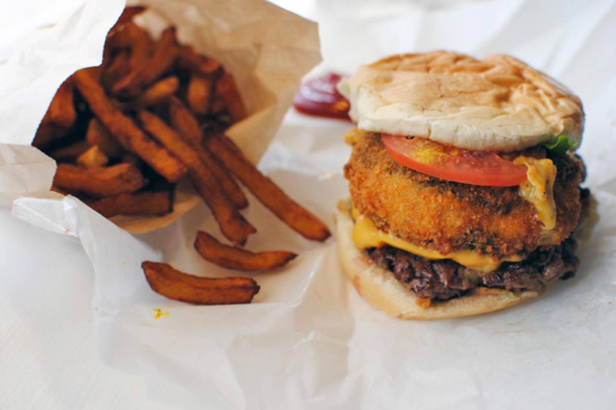 Burgers Priest Queen Street