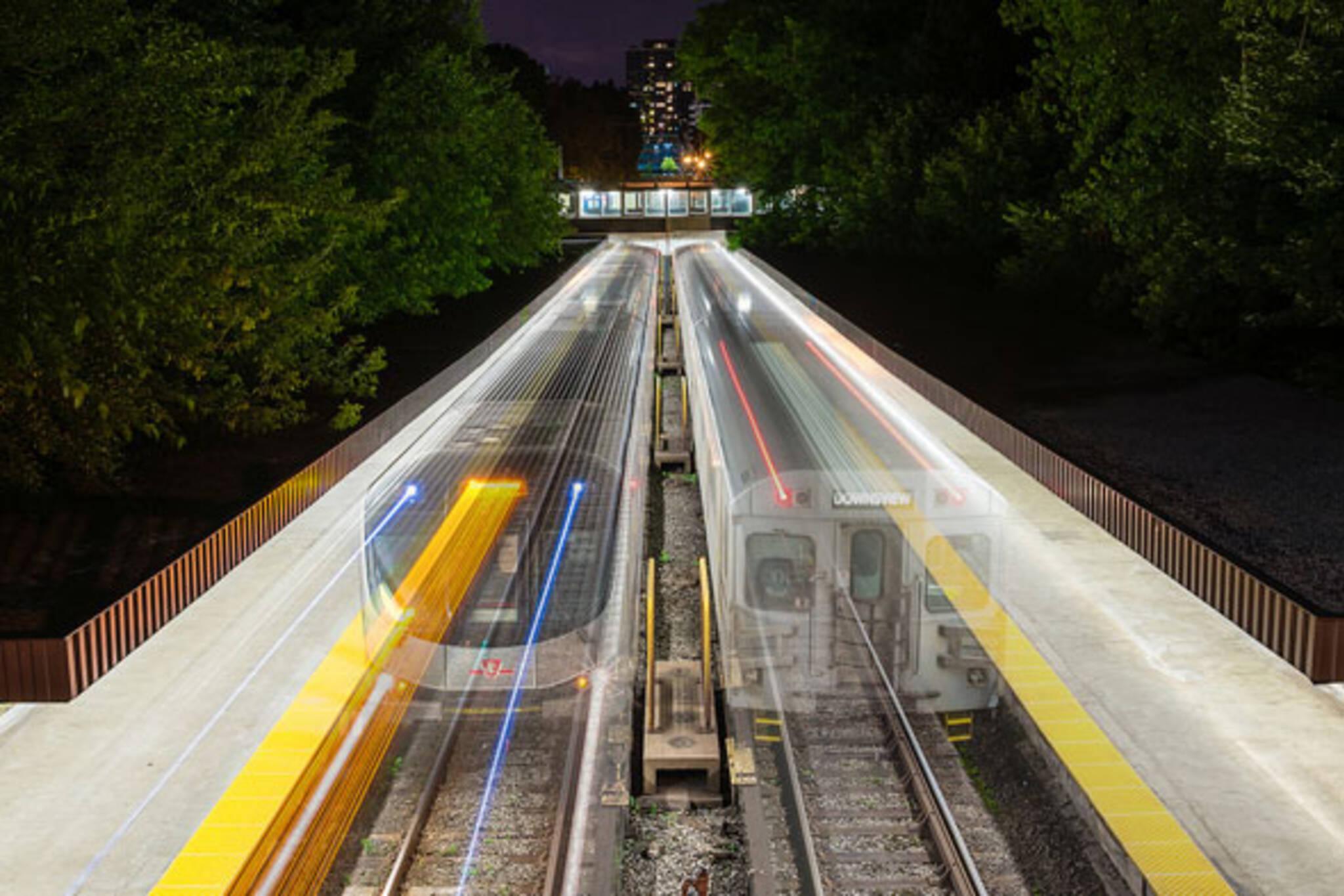 old and new ttc subways