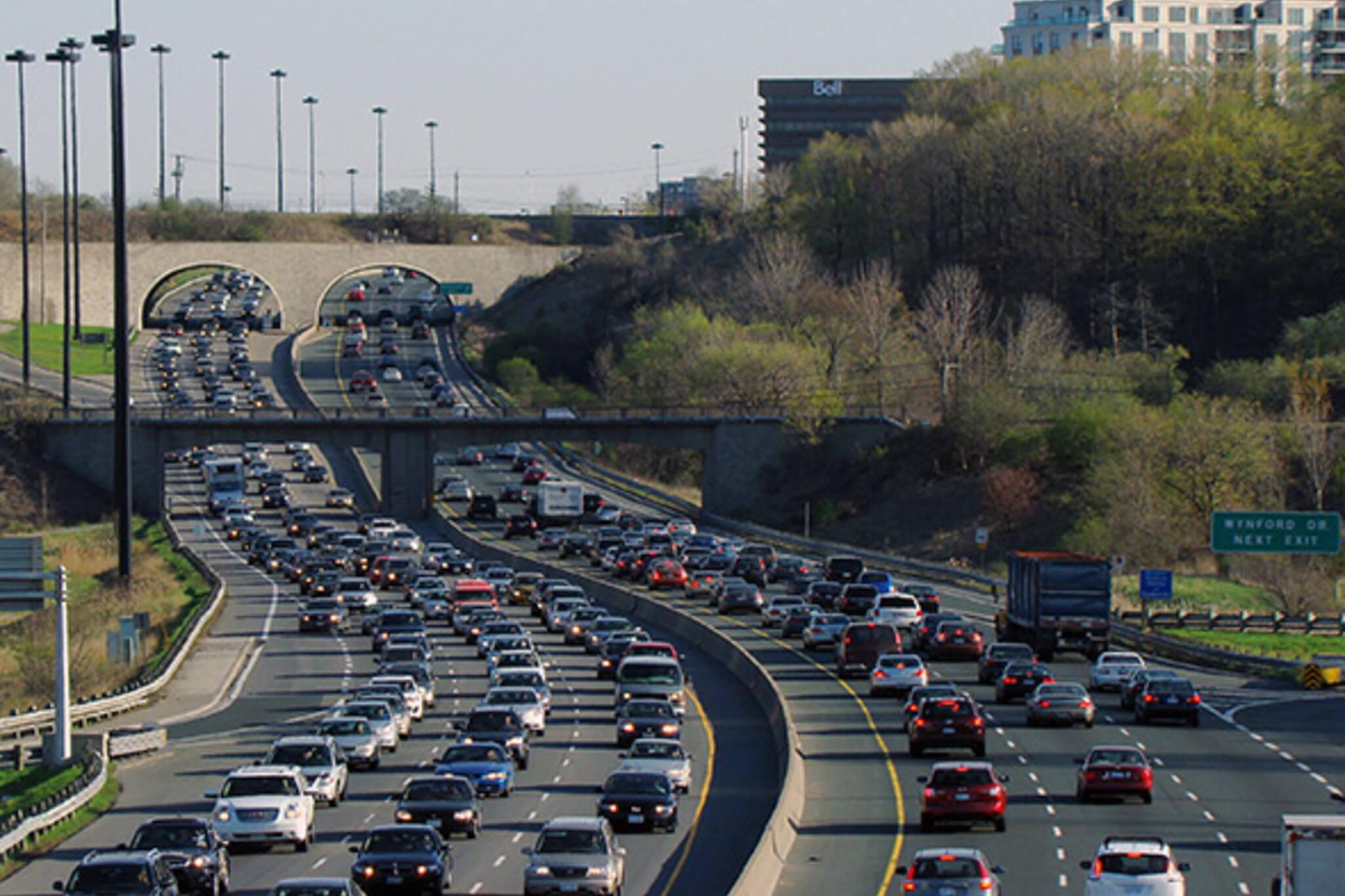 congestion toronto