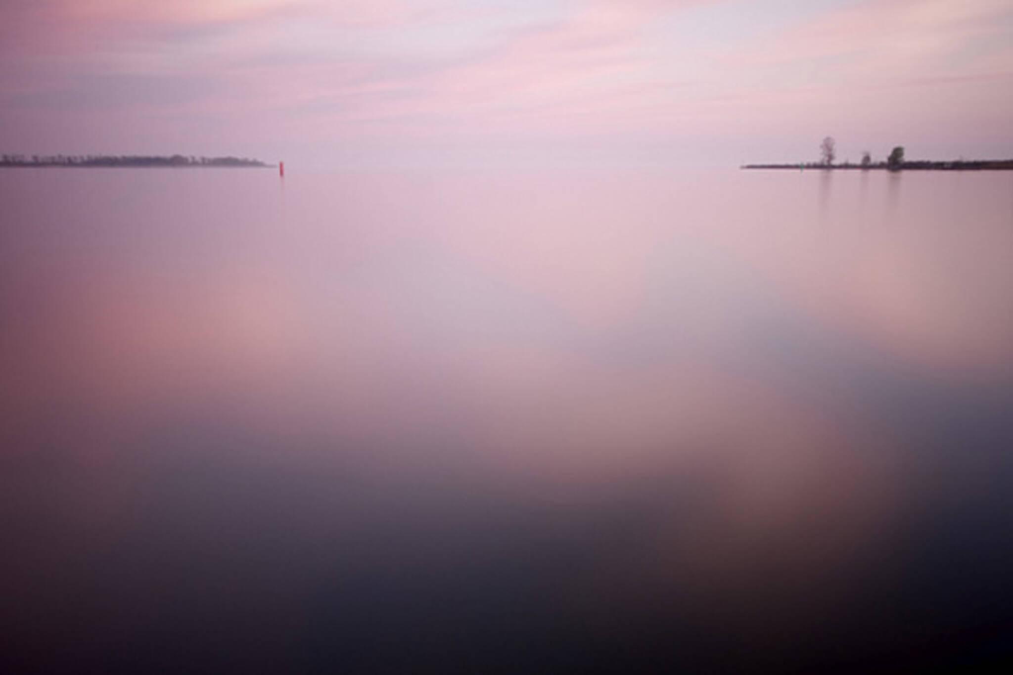 Cherry Beach Toronto Sunset