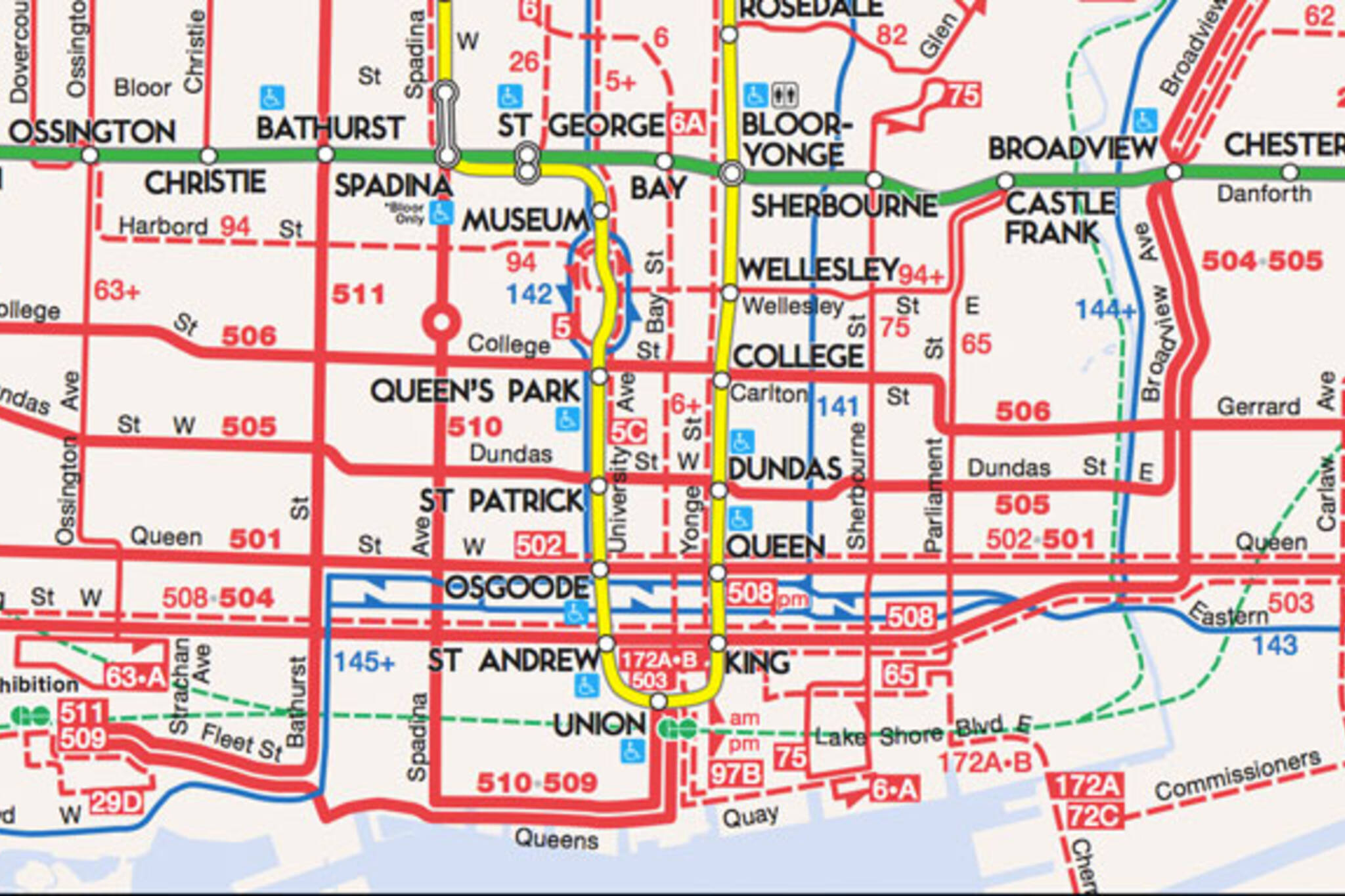 toronto ttc map