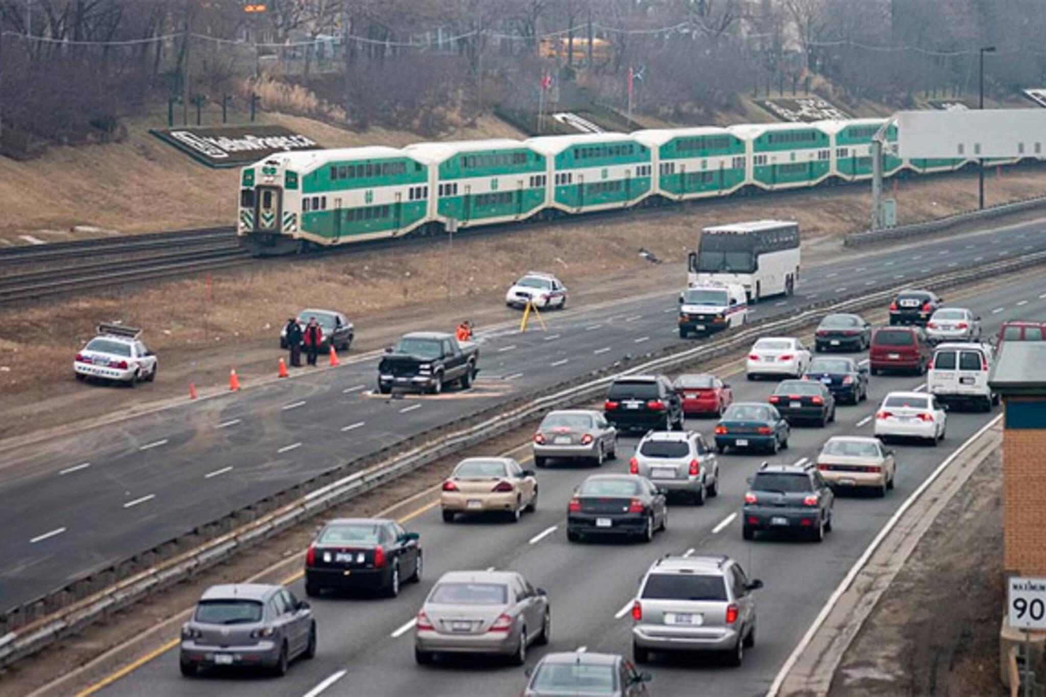 traffic congestion toronto
