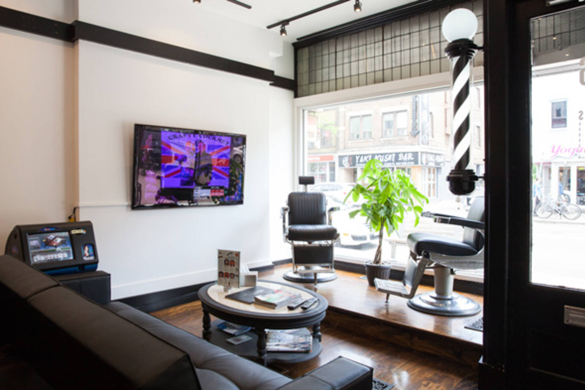 barber shop tv