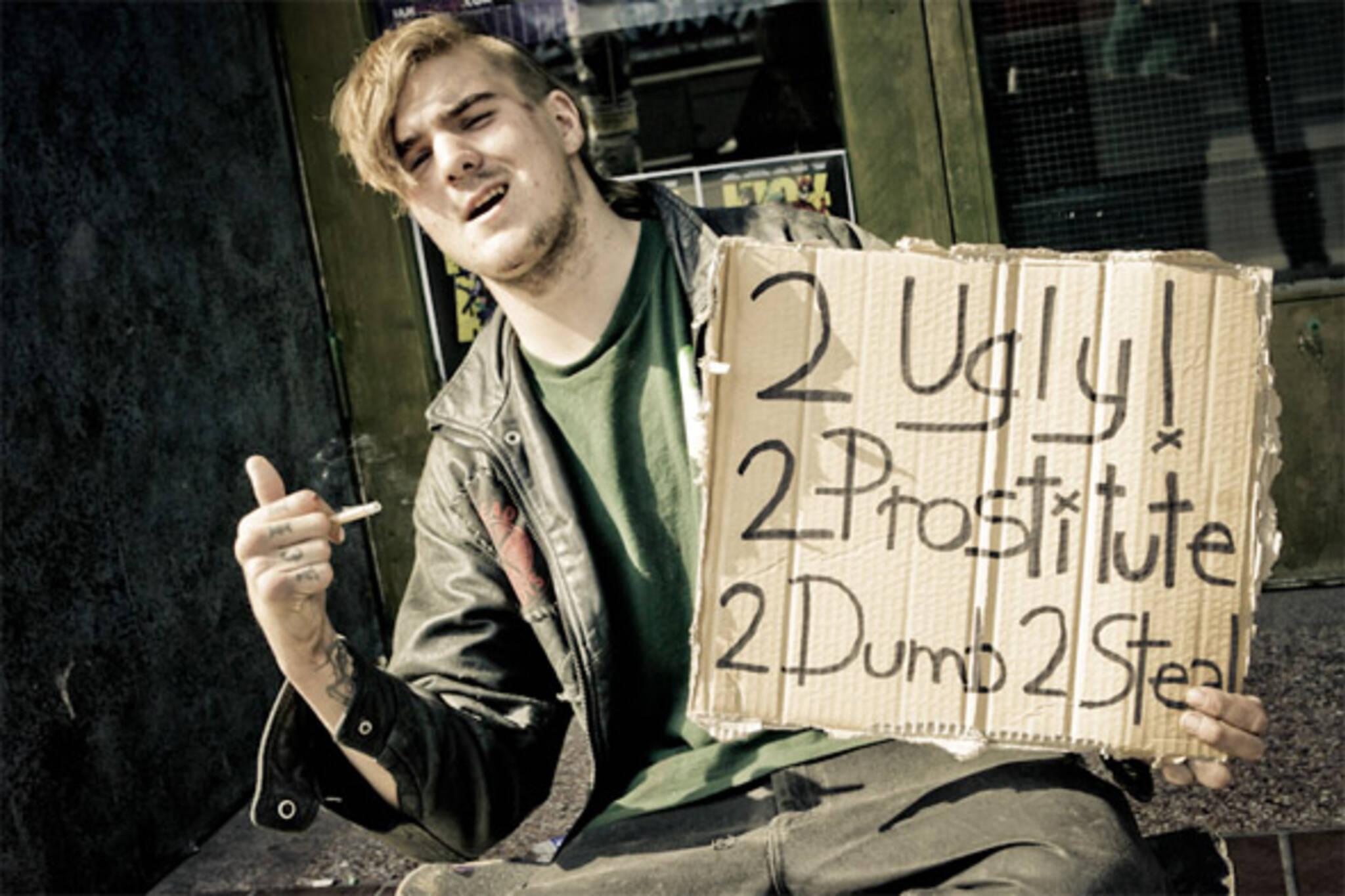 panhandlers toronto