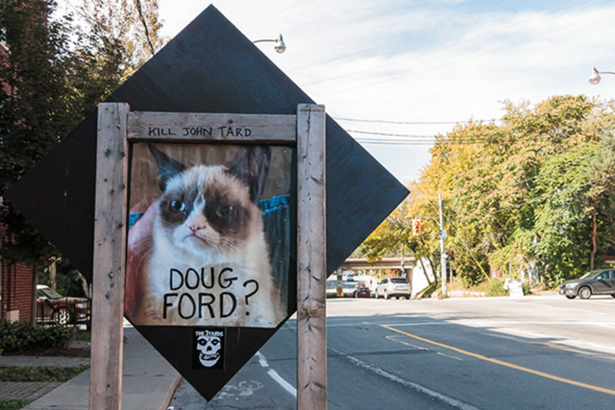 Doug Ford sign