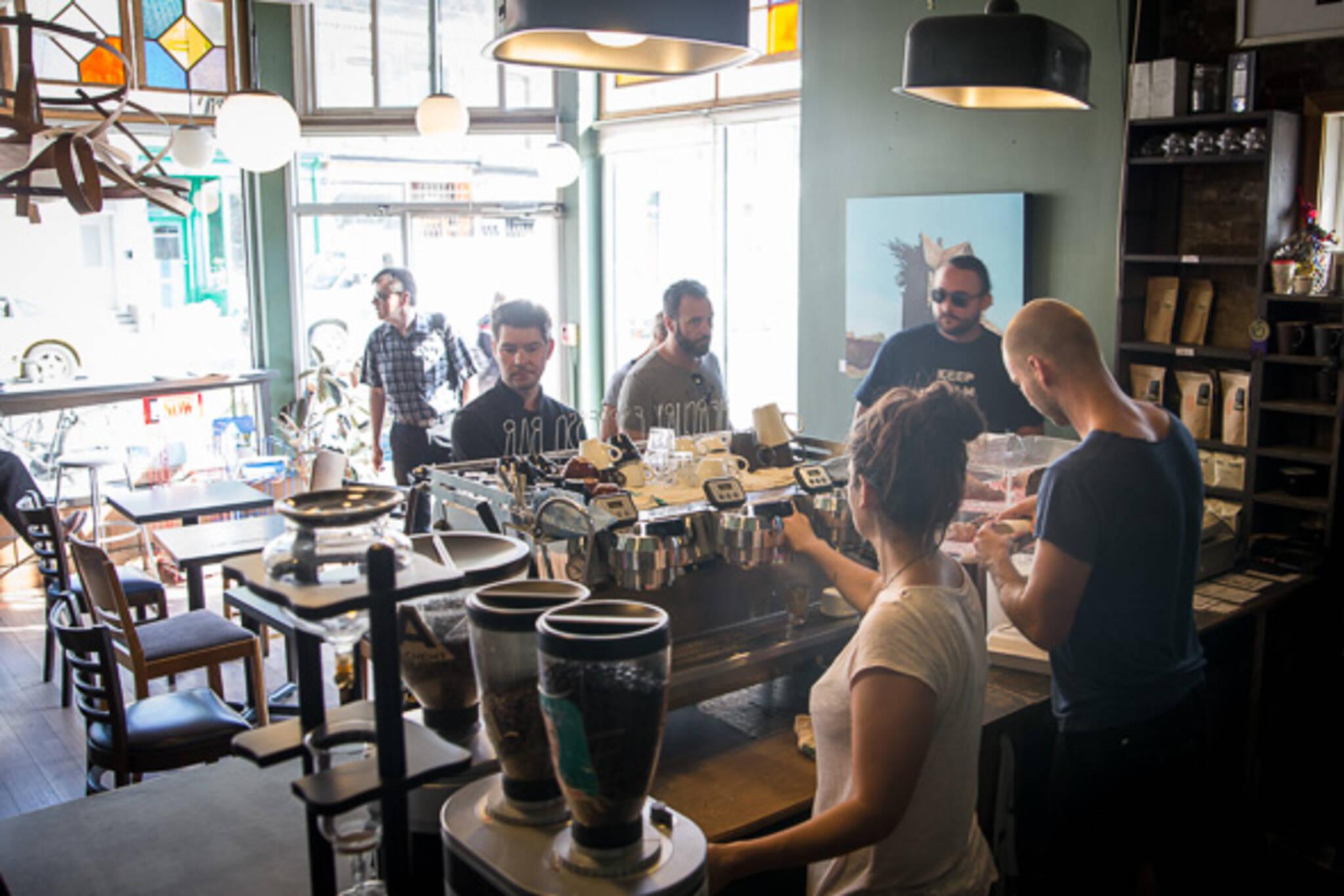 Leslieville Coffee Shop