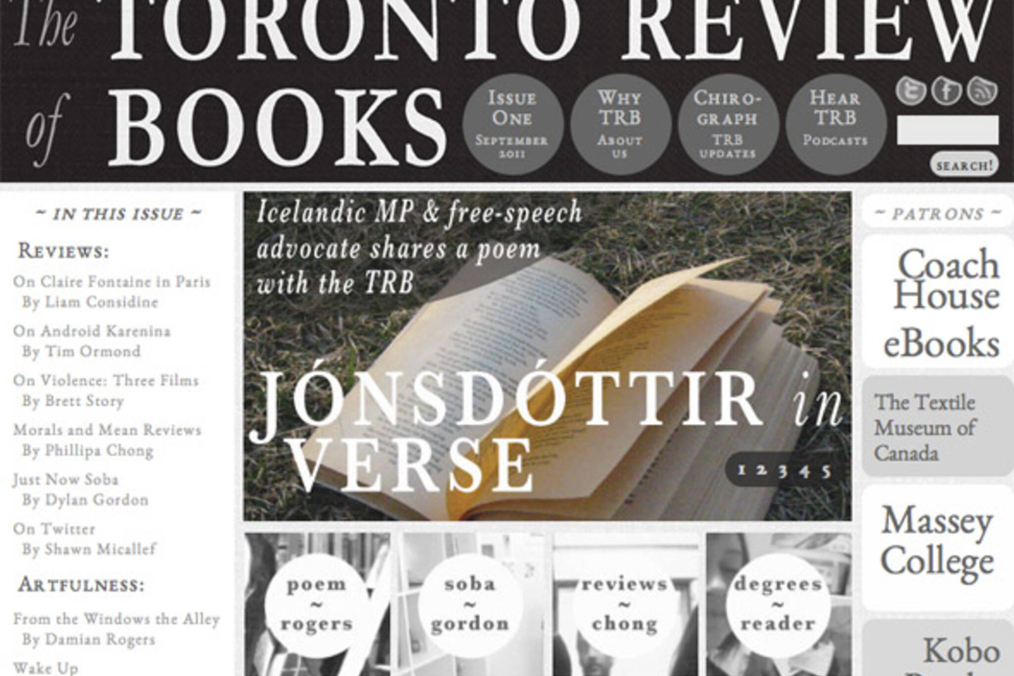 Toronto Review of Books