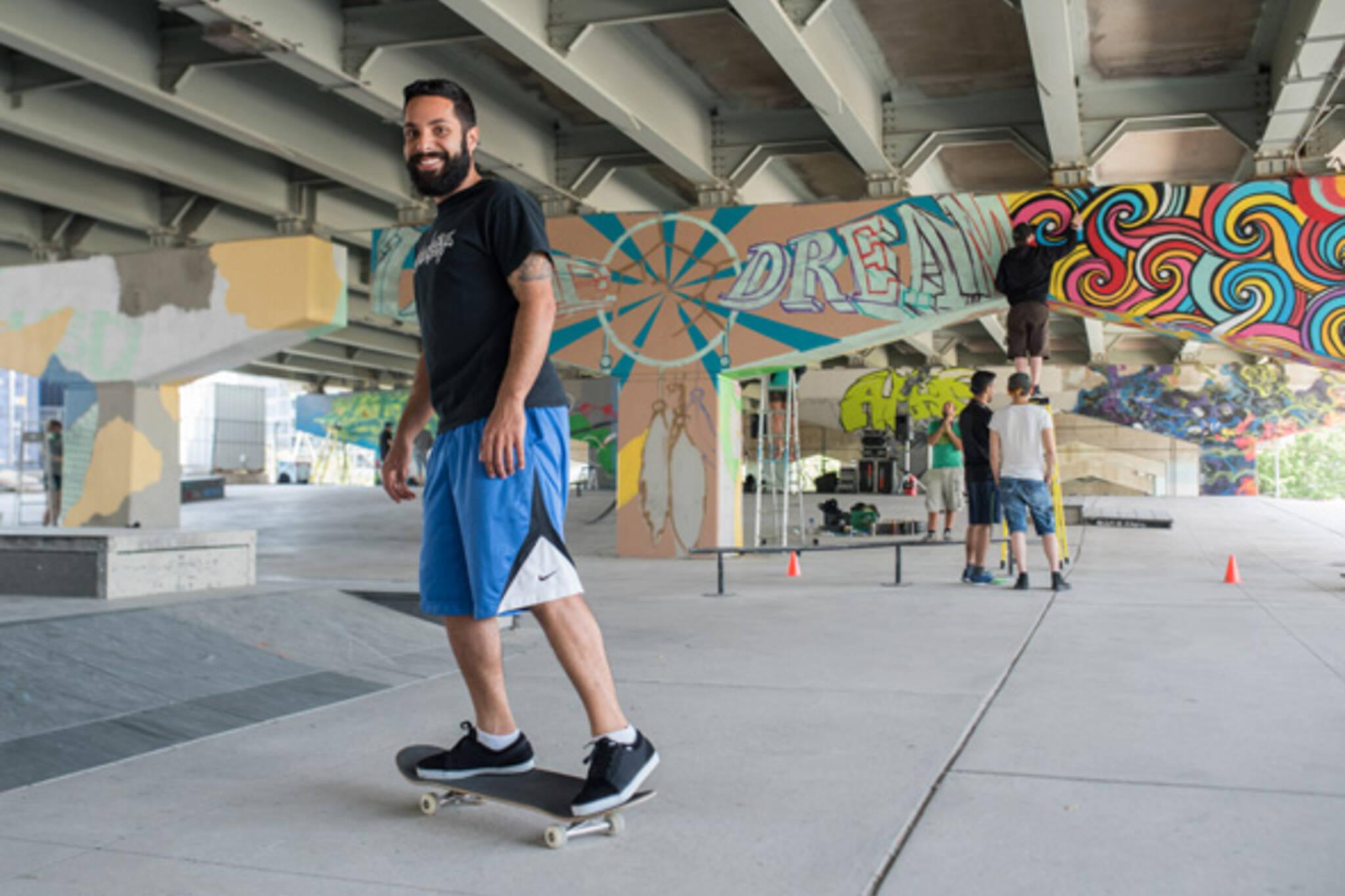 skatepark toronto