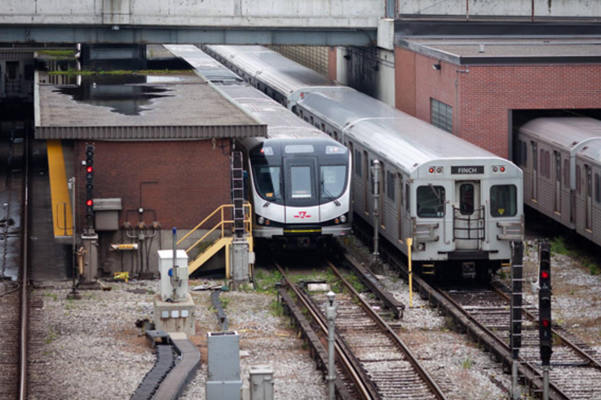TTC Rocket Subway Launch