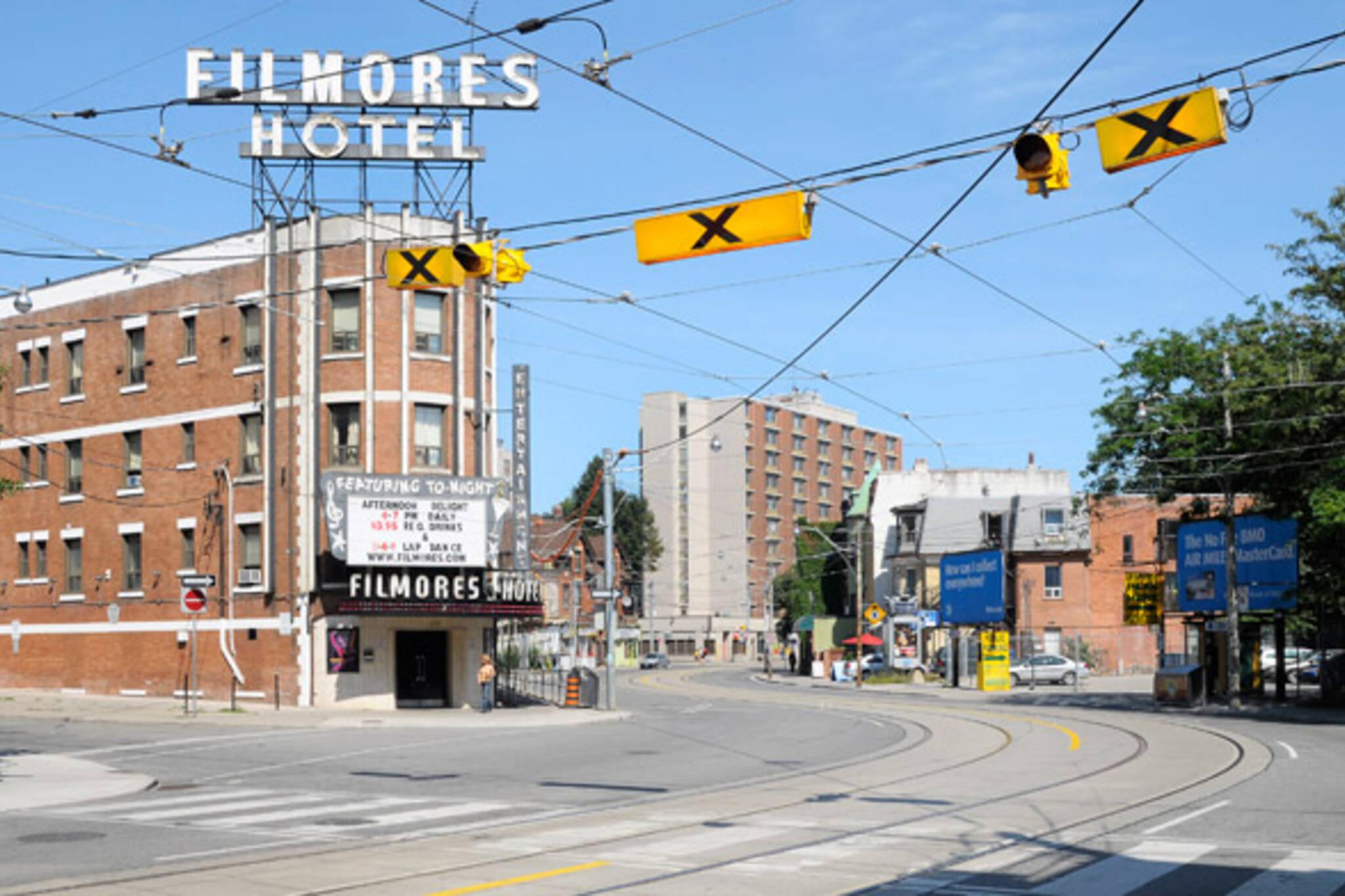 Filmore's Strip Club Dundas Sherbourne Jarvis
