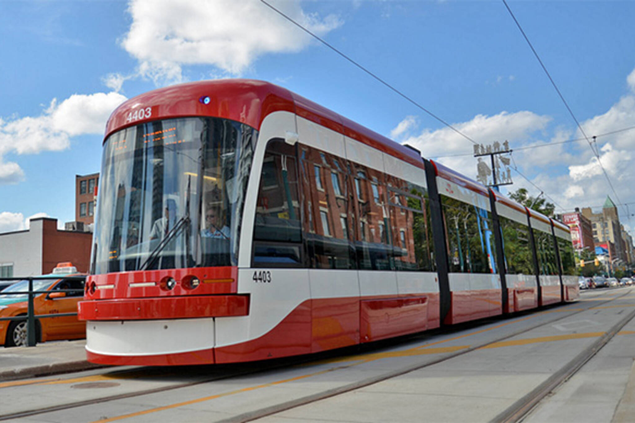 514 ttc streetcar route