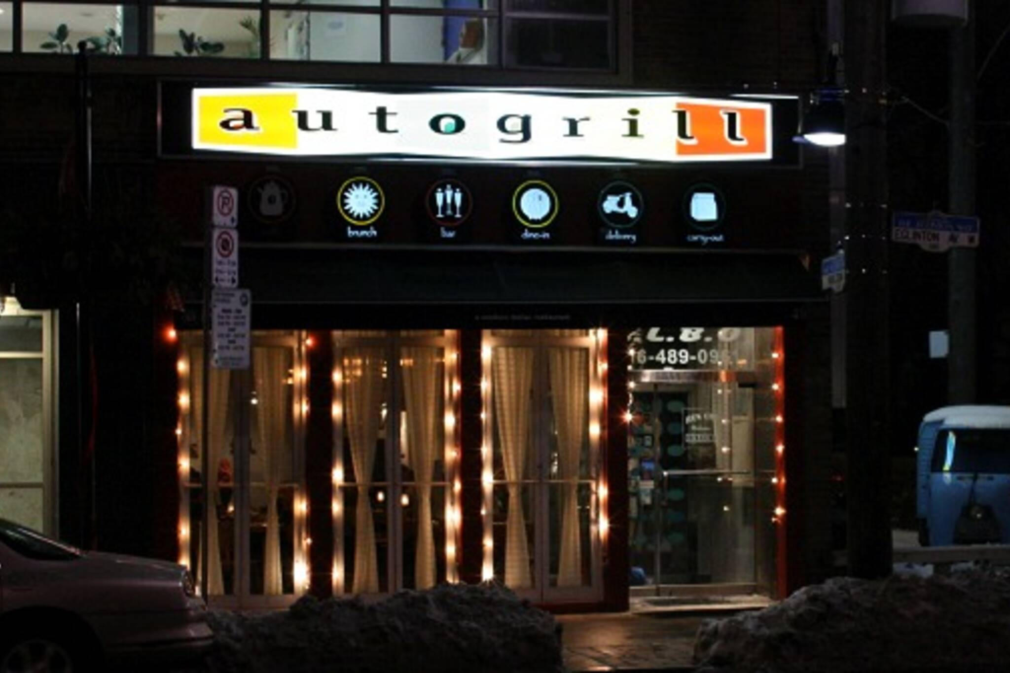 Autogrill restaurant front