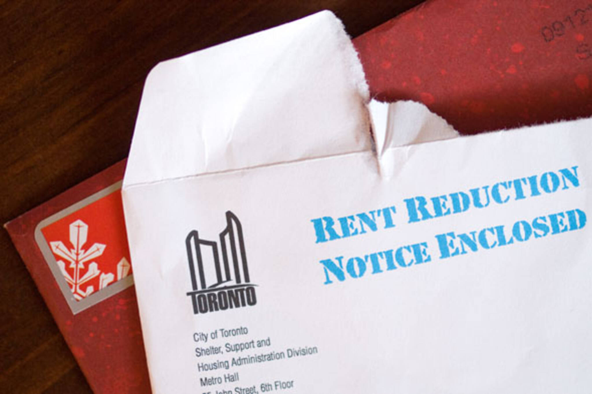 rent reduction notice toronto