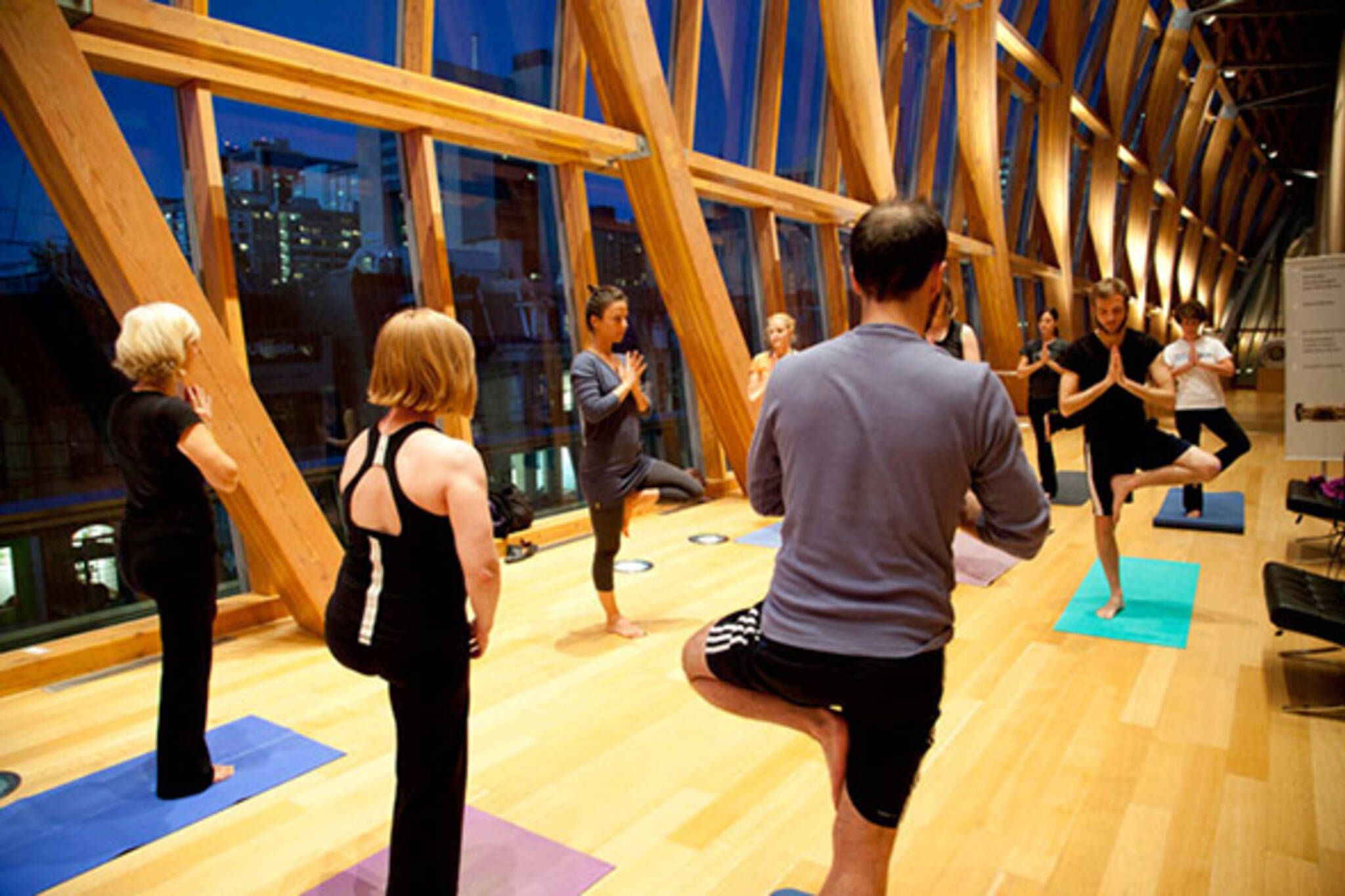 The top 5 unusual places to do yoga in toronto for Places to do yoga