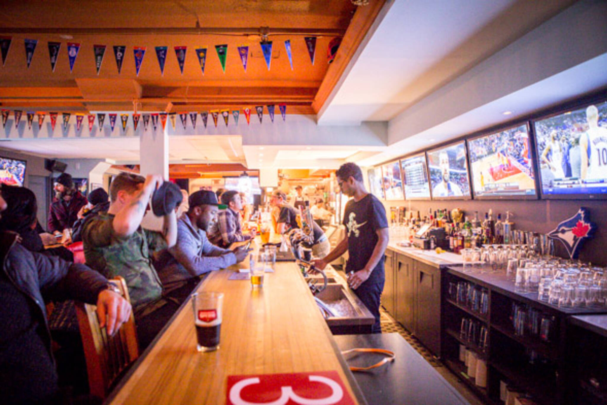 The top 10 bars to watch a Raptors game in Toronto