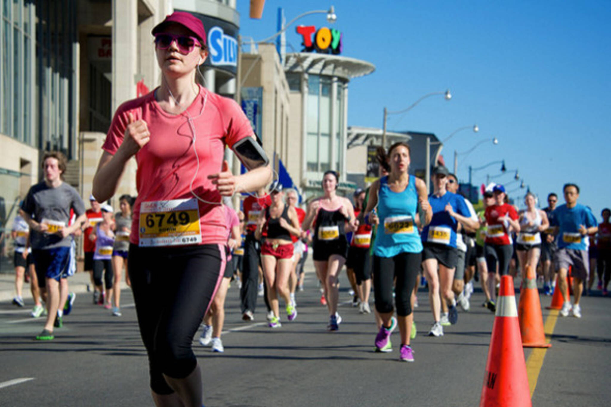 Toronto Goodlife Marathon road closures