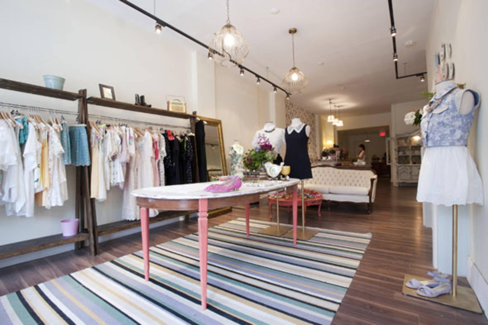Queen West fashion boutique
