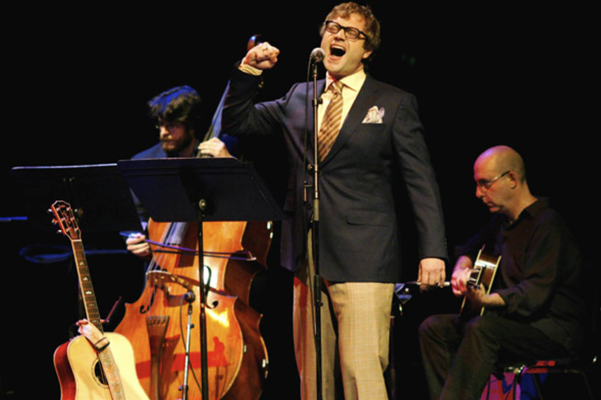 Steven Page with the Art of Time Ensemble in Toronto