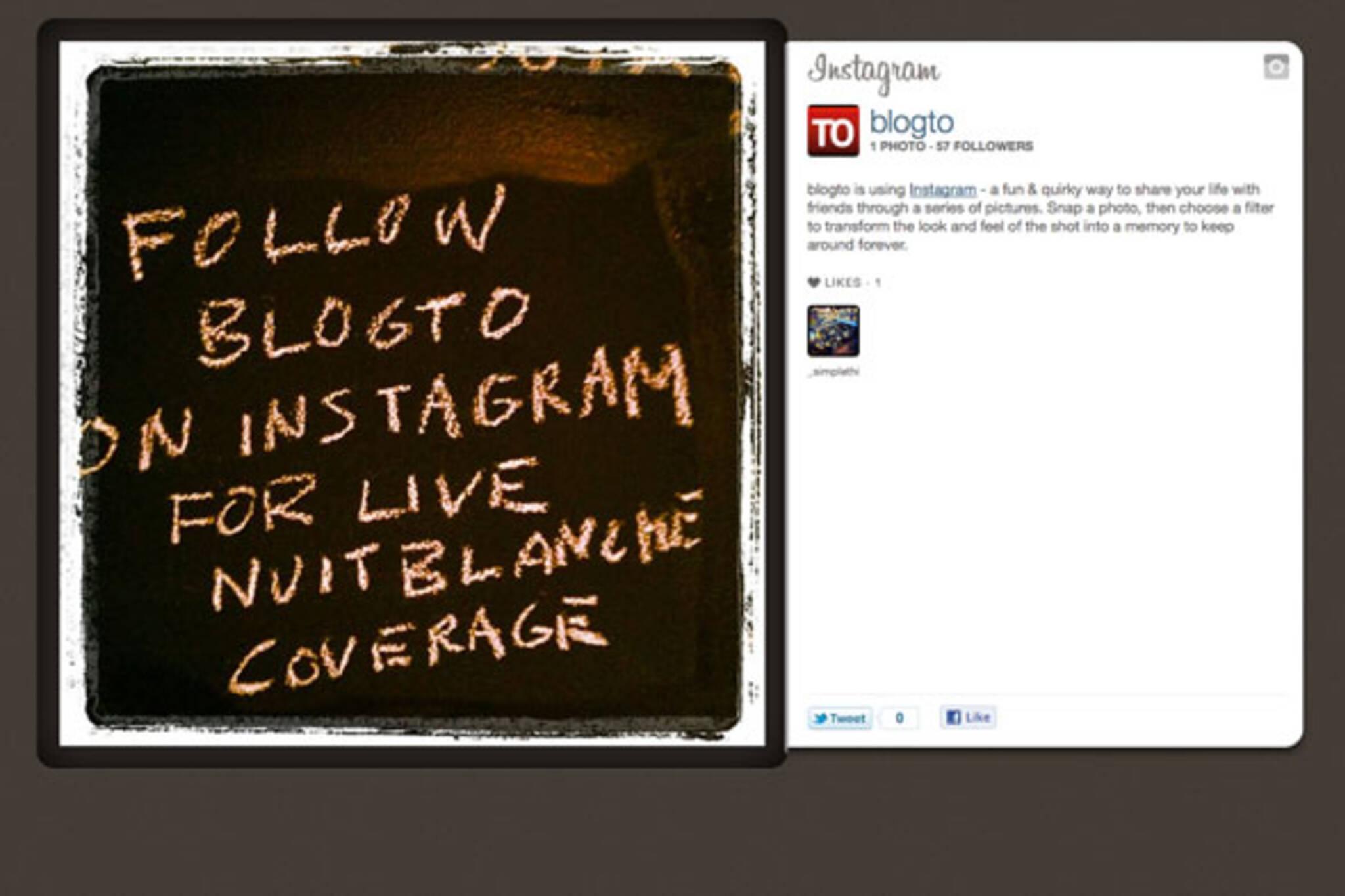 Instagram blogTO