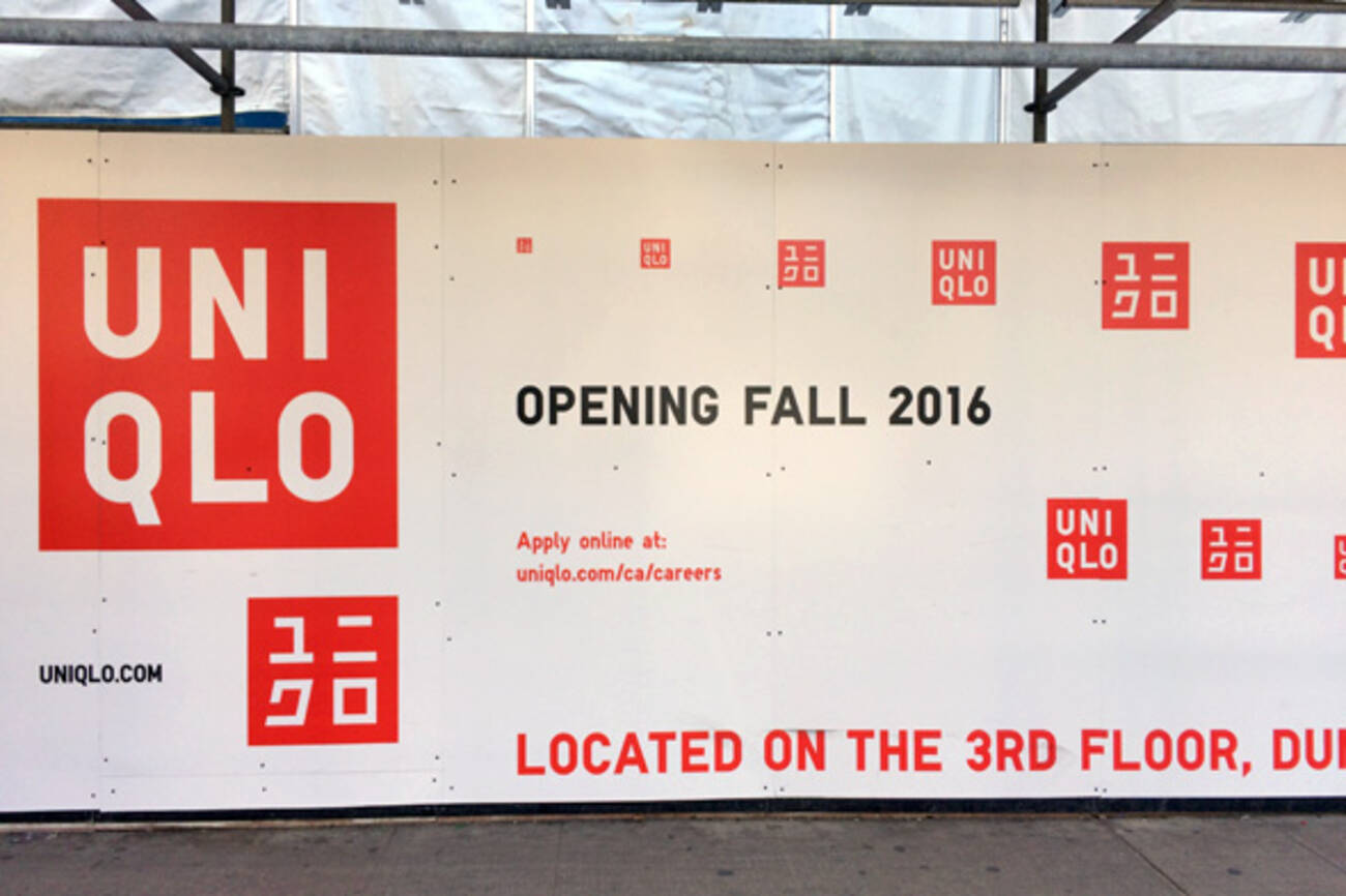 is opening at the Toronto Eaton Centre this fall
