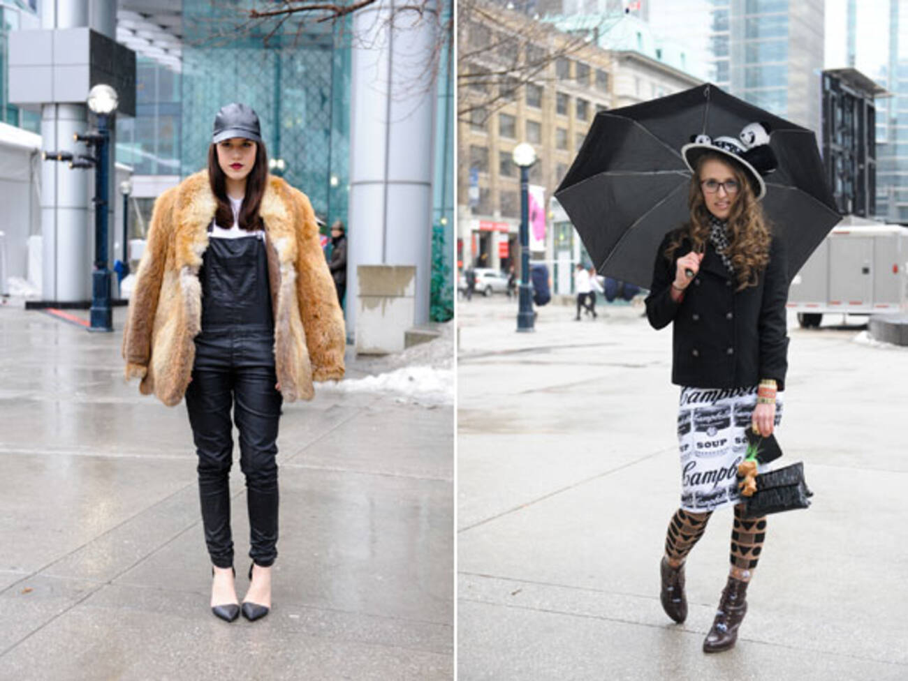 Street Style 15 Rainy Day Looks At Toronto Fashion Week