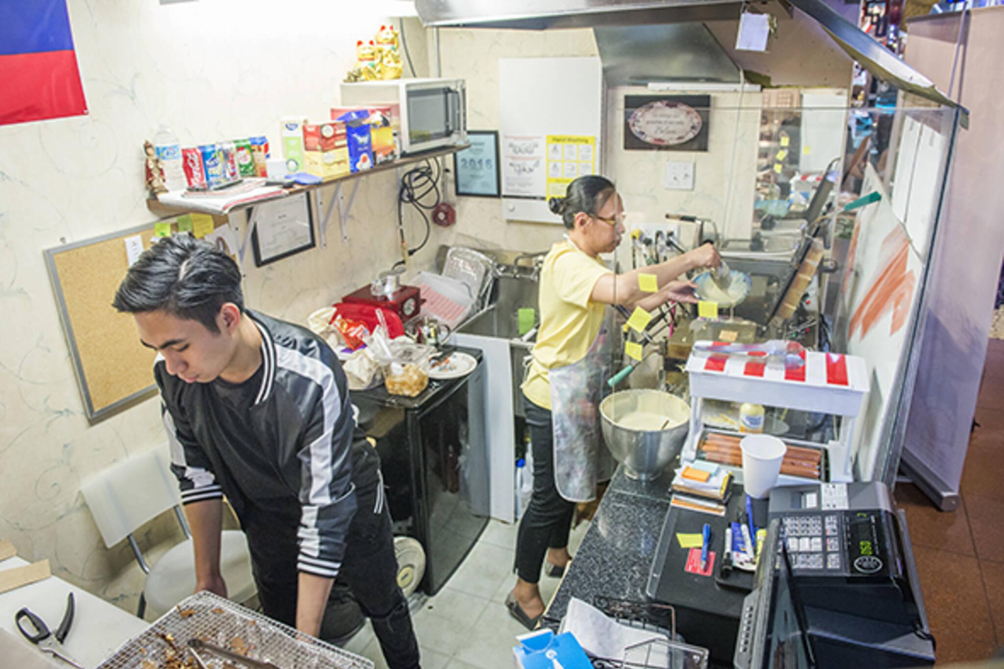 pinoy waffles
