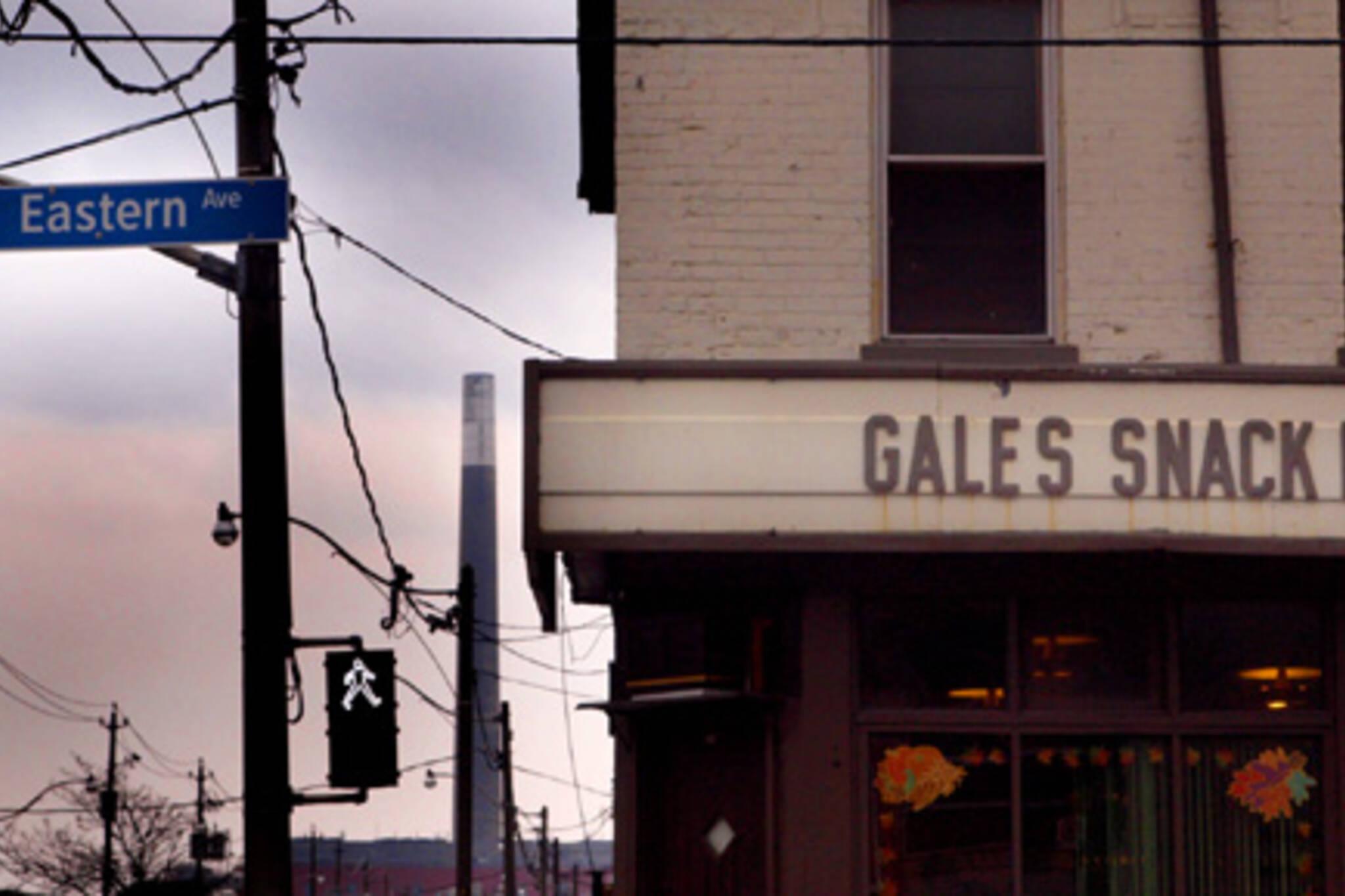 Gale's Snack Bar, an Eastern Avenue landmark