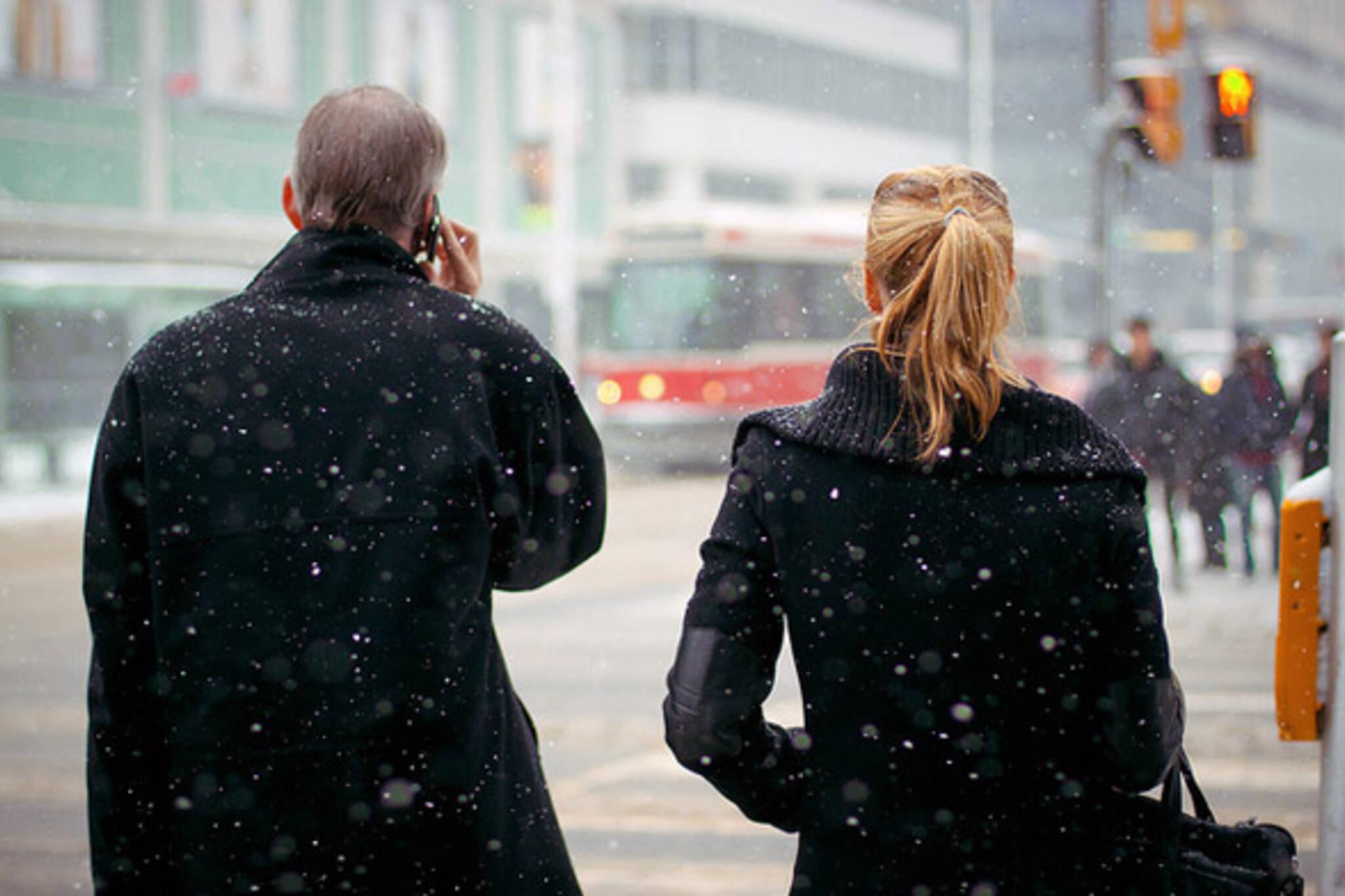Toronto pedestrians